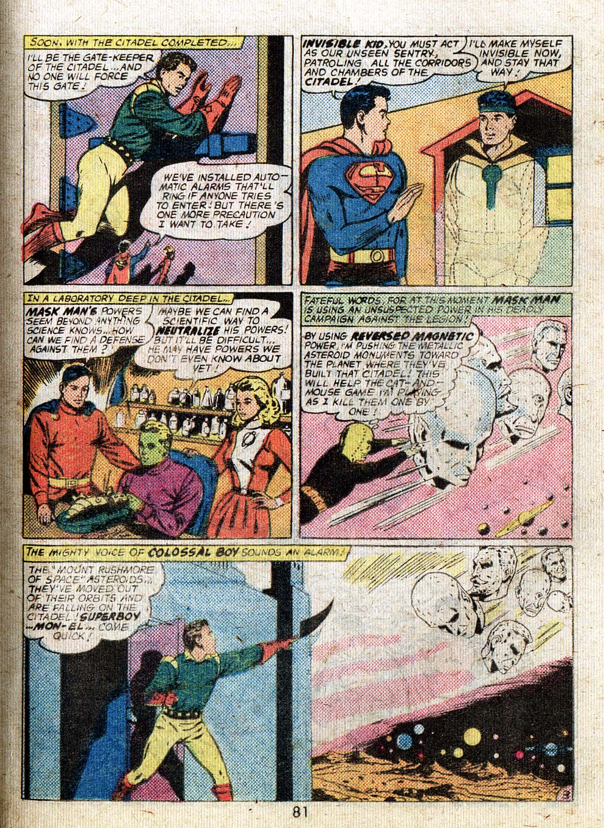 Read online Adventure Comics (1938) comic -  Issue #500 - 81
