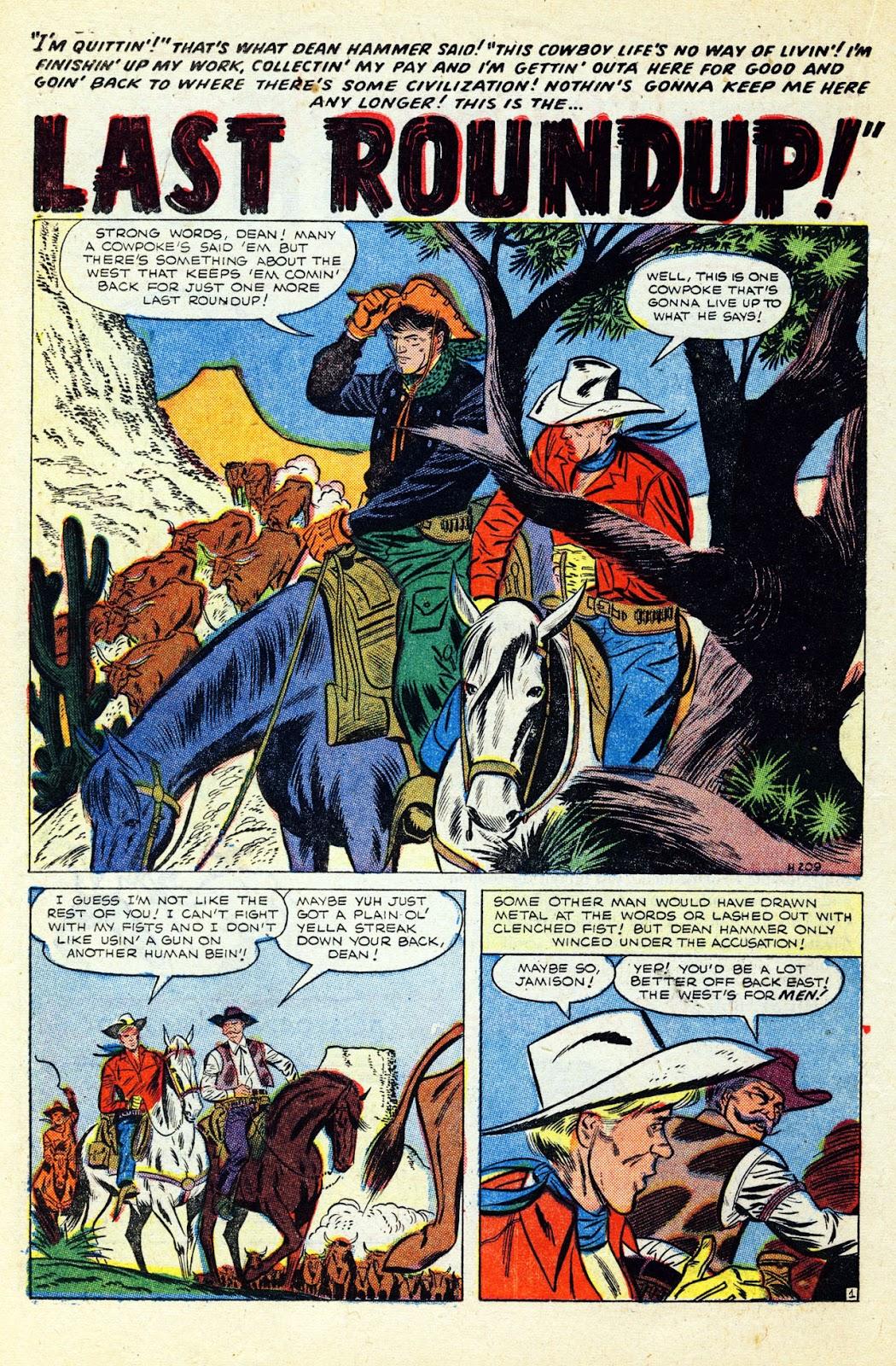 Gunsmoke Western issue 32 - Page 22