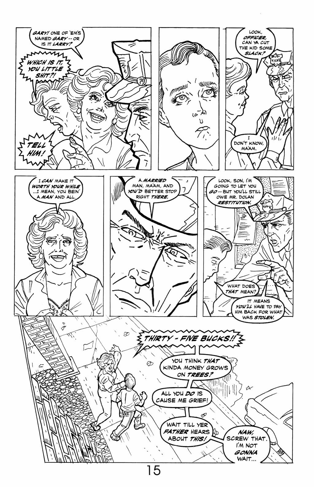 Read online A Touch of Silver comic -  Issue #6 - 17