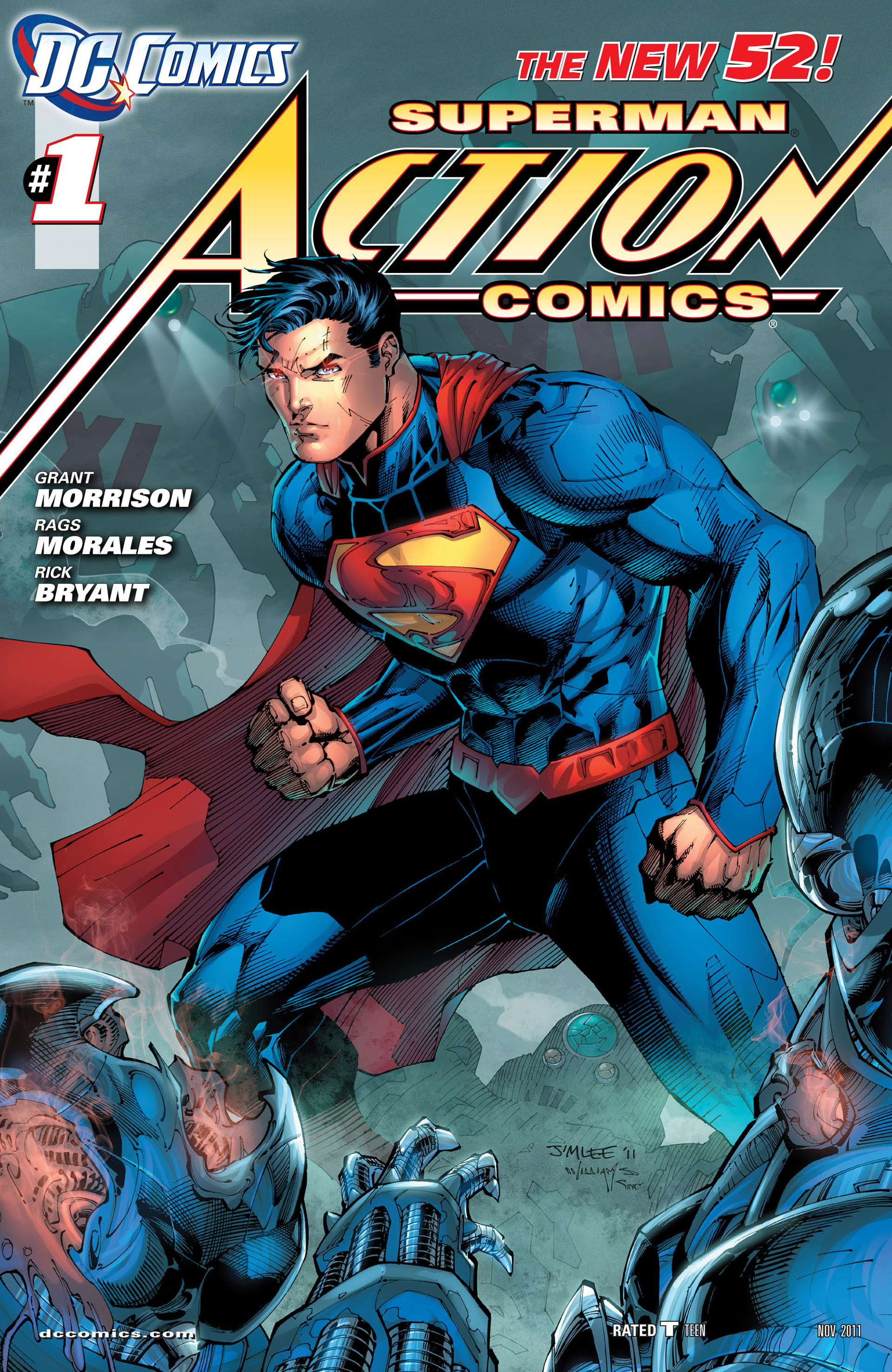 Read online Action Comics (2011) comic -  Issue #1 - 3