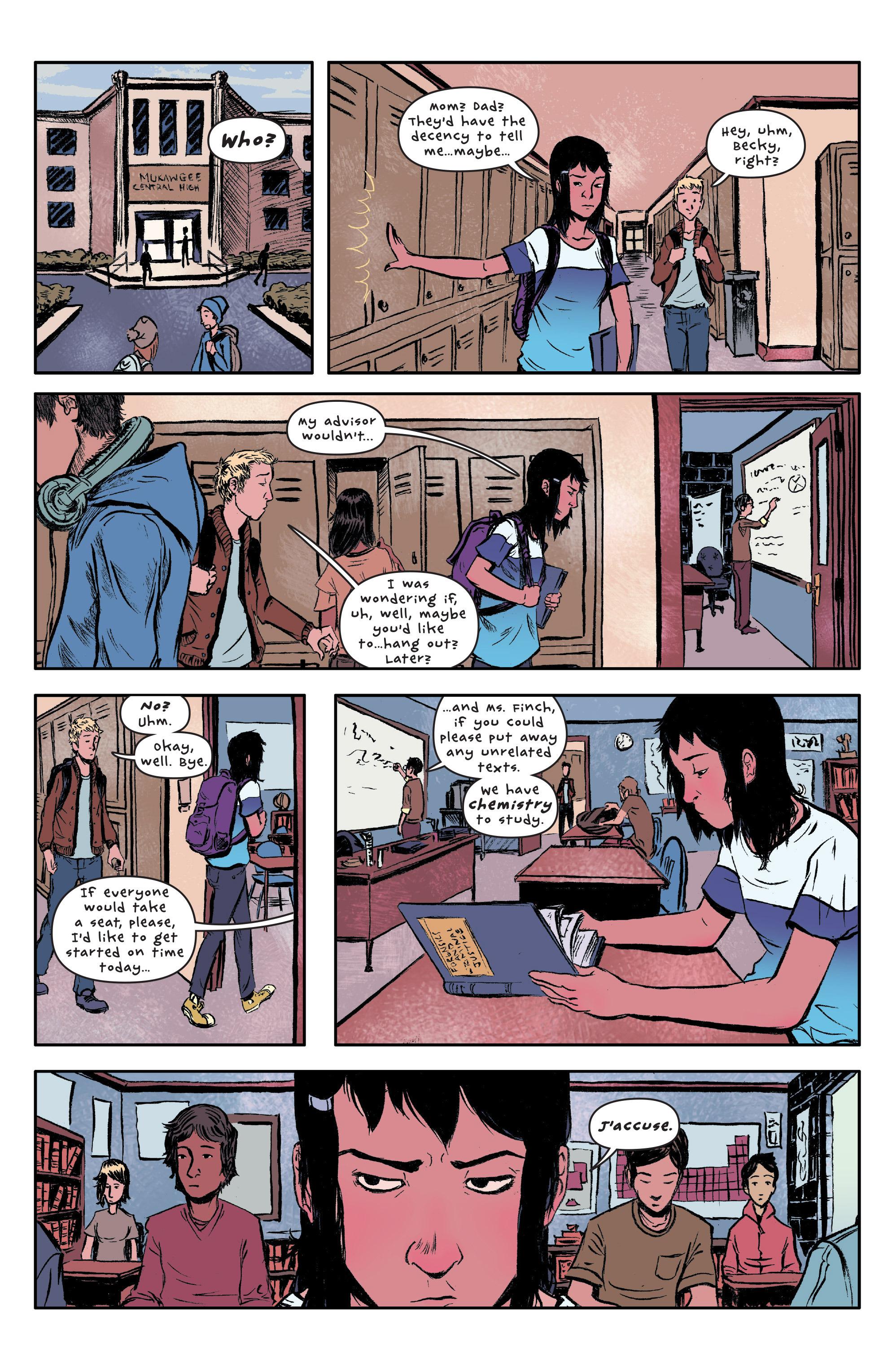 Read online UFOlogy comic -  Issue #1 - 5