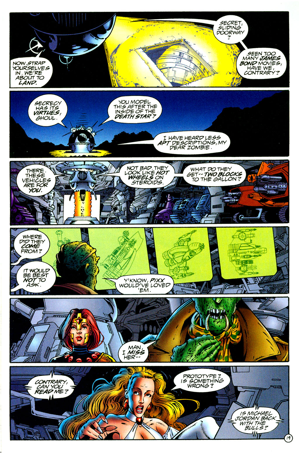 Read online UltraForce (1994) comic -  Issue #8 - 18