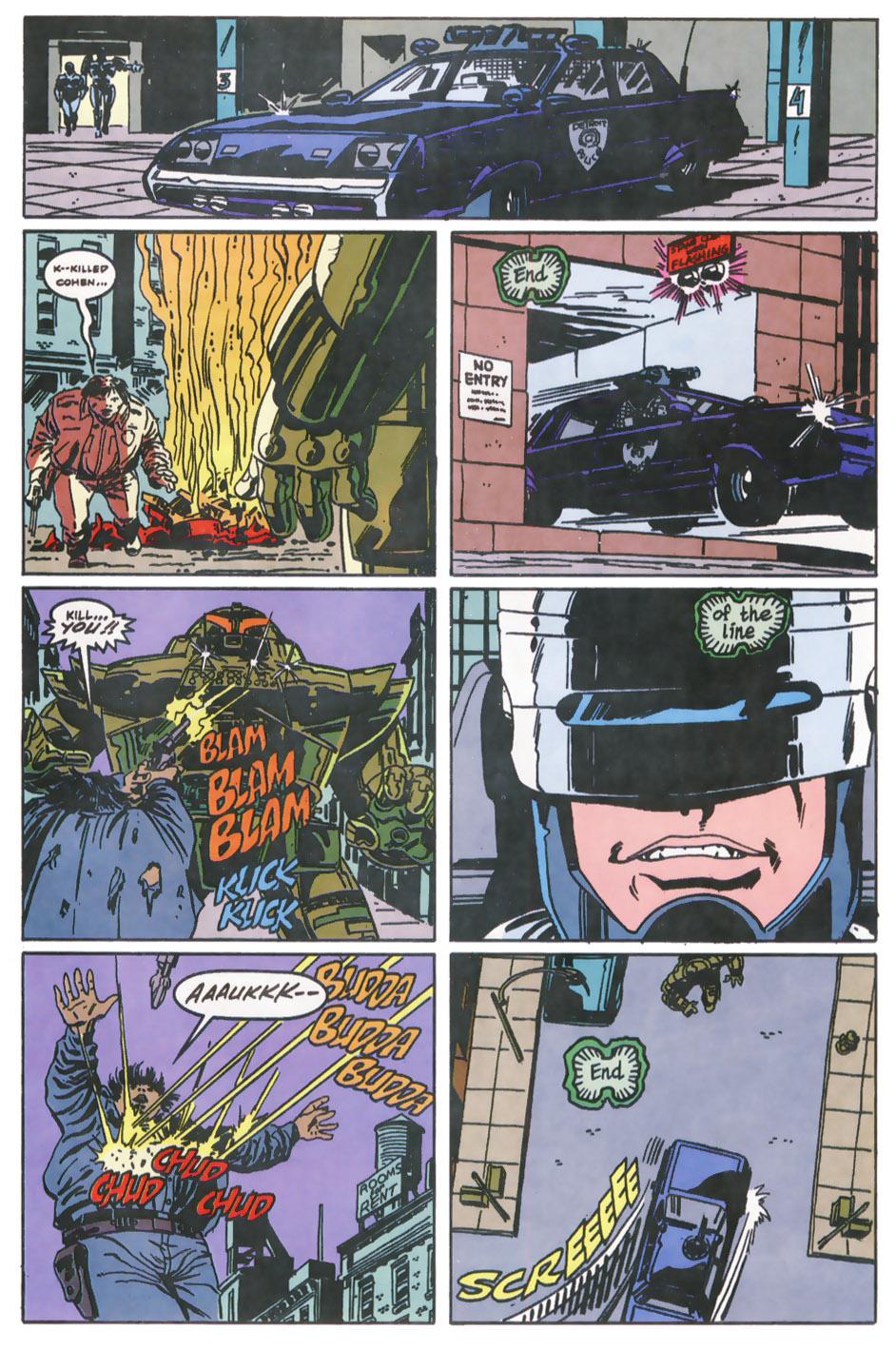 Read online Robocop (1990) comic -  Issue #11 - 13