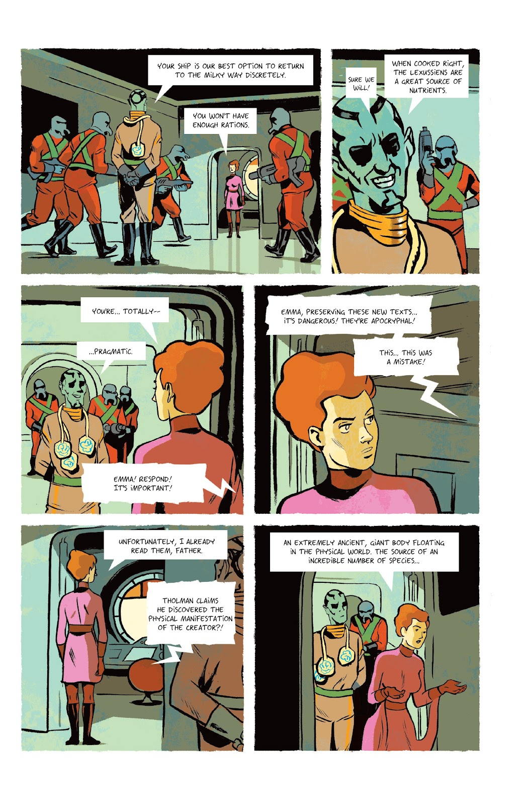 Read online Infinity 8 comic -  Issue #9 - 8