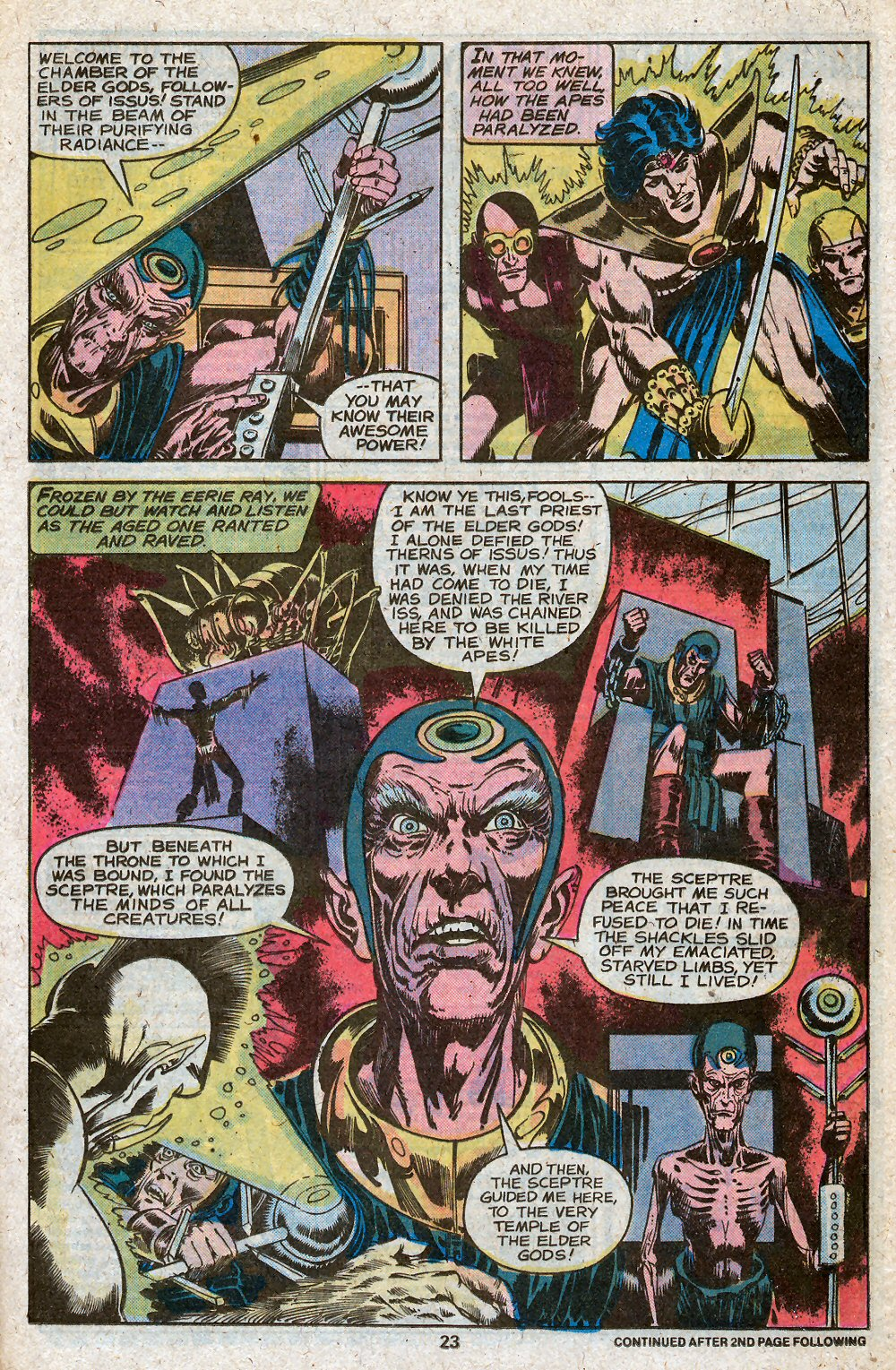 John Carter Warlord of Mars issue 28 - Page 25