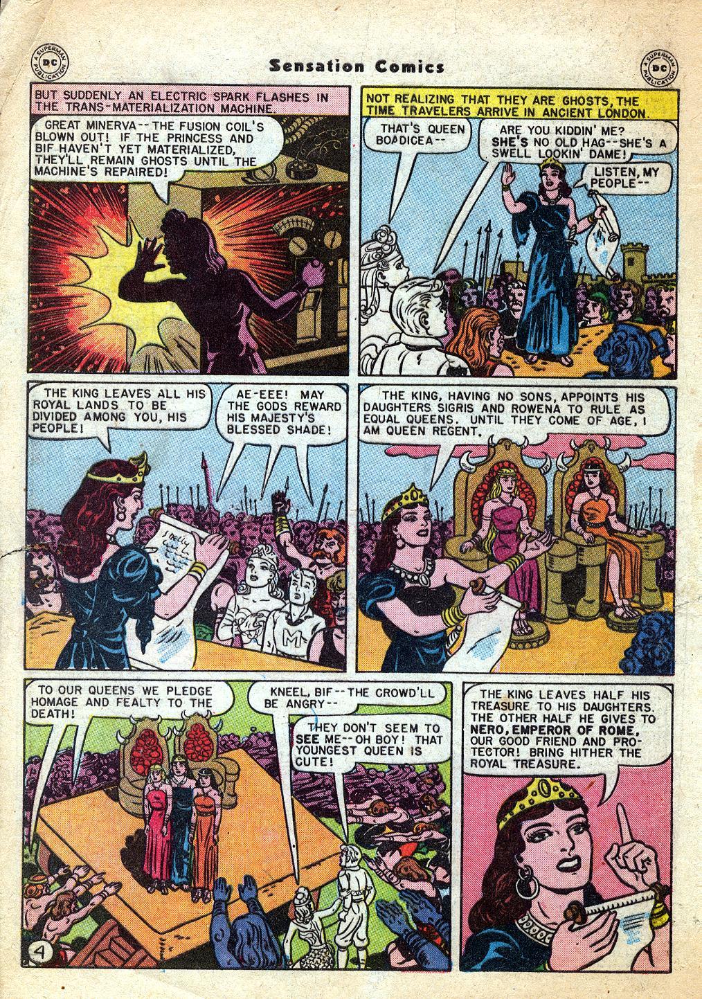 Read online Sensation (Mystery) Comics comic -  Issue #60 - 6