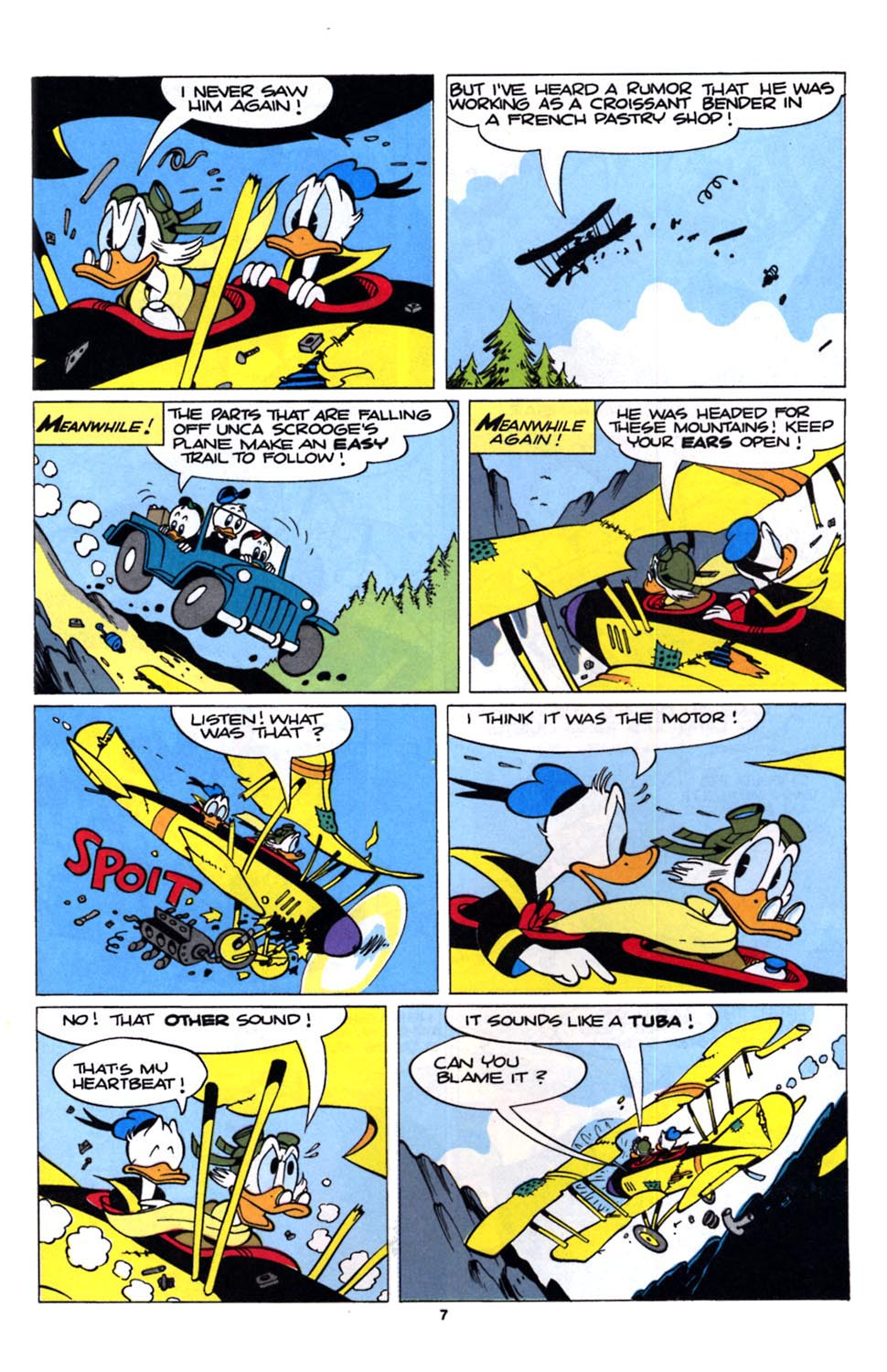 Read online Uncle Scrooge (1953) comic -  Issue #243 - 9