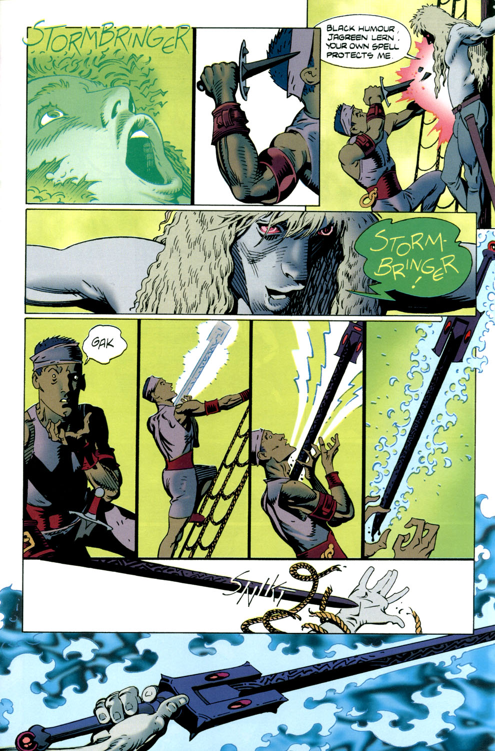Read online Elric: Stormbringer comic -  Issue #4 - 5