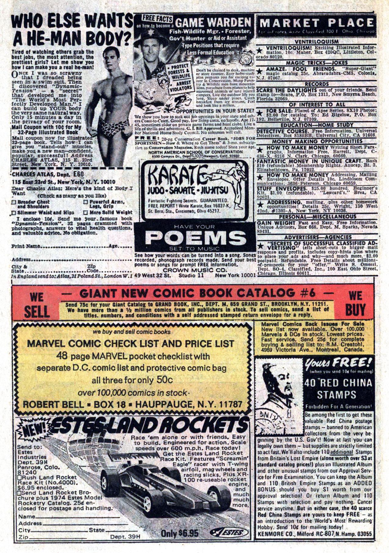 Read online Amazing Adventures (1970) comic -  Issue #30 - 14