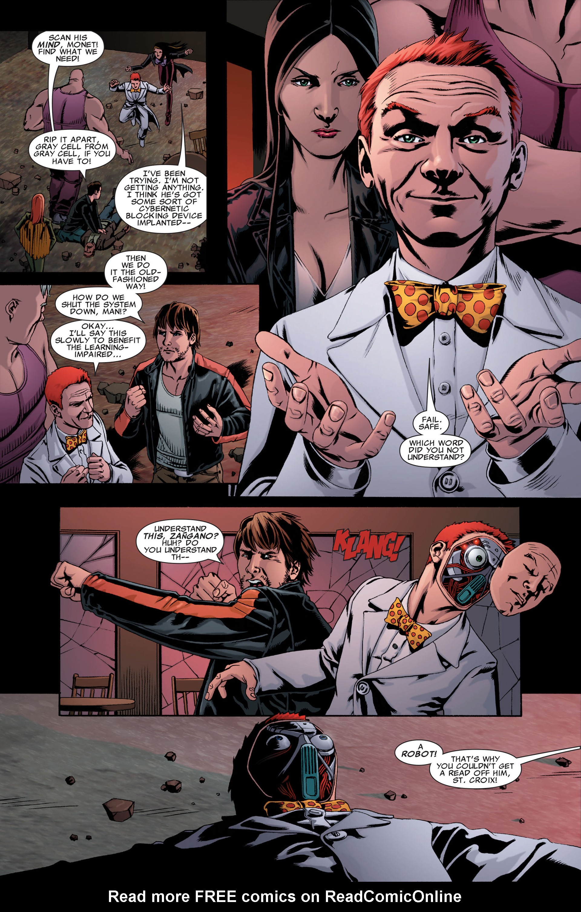Read online X-Factor (2006) comic -  Issue #31 - 7