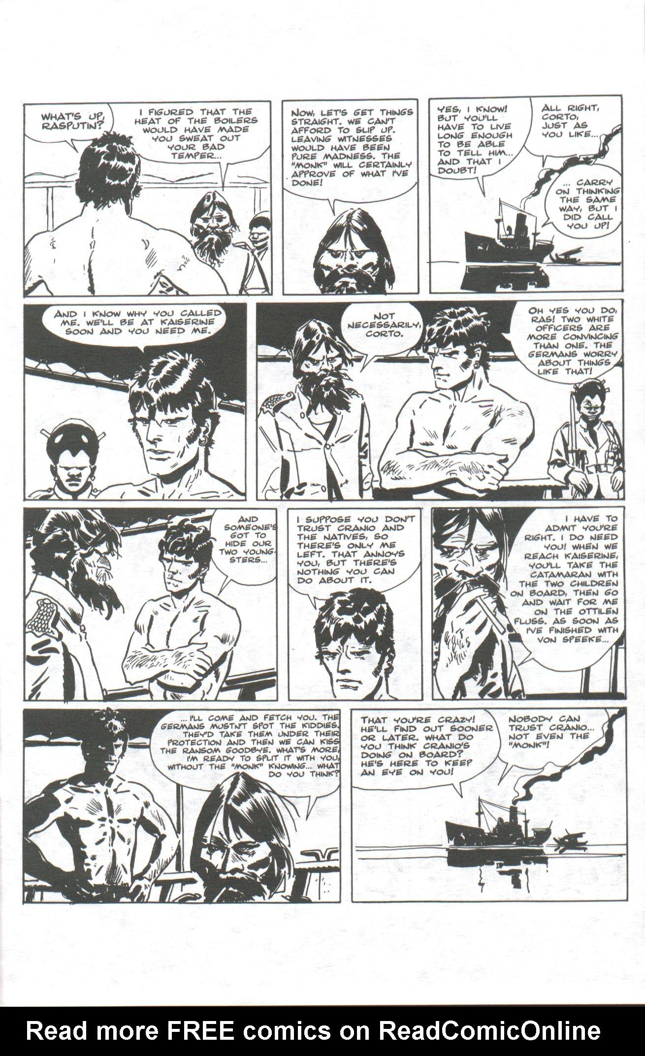 Read online Corto Maltese: Ballad of the Salt Sea comic -  Issue #1 - 17