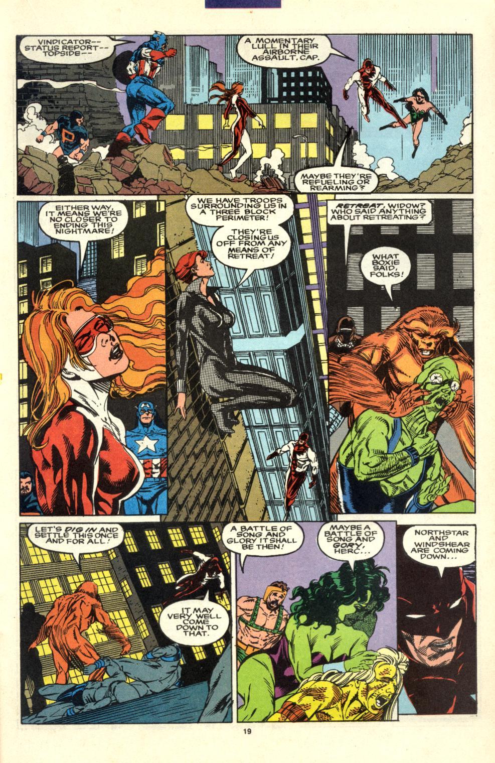 Read online Alpha Flight (1983) comic -  Issue #99 - 15