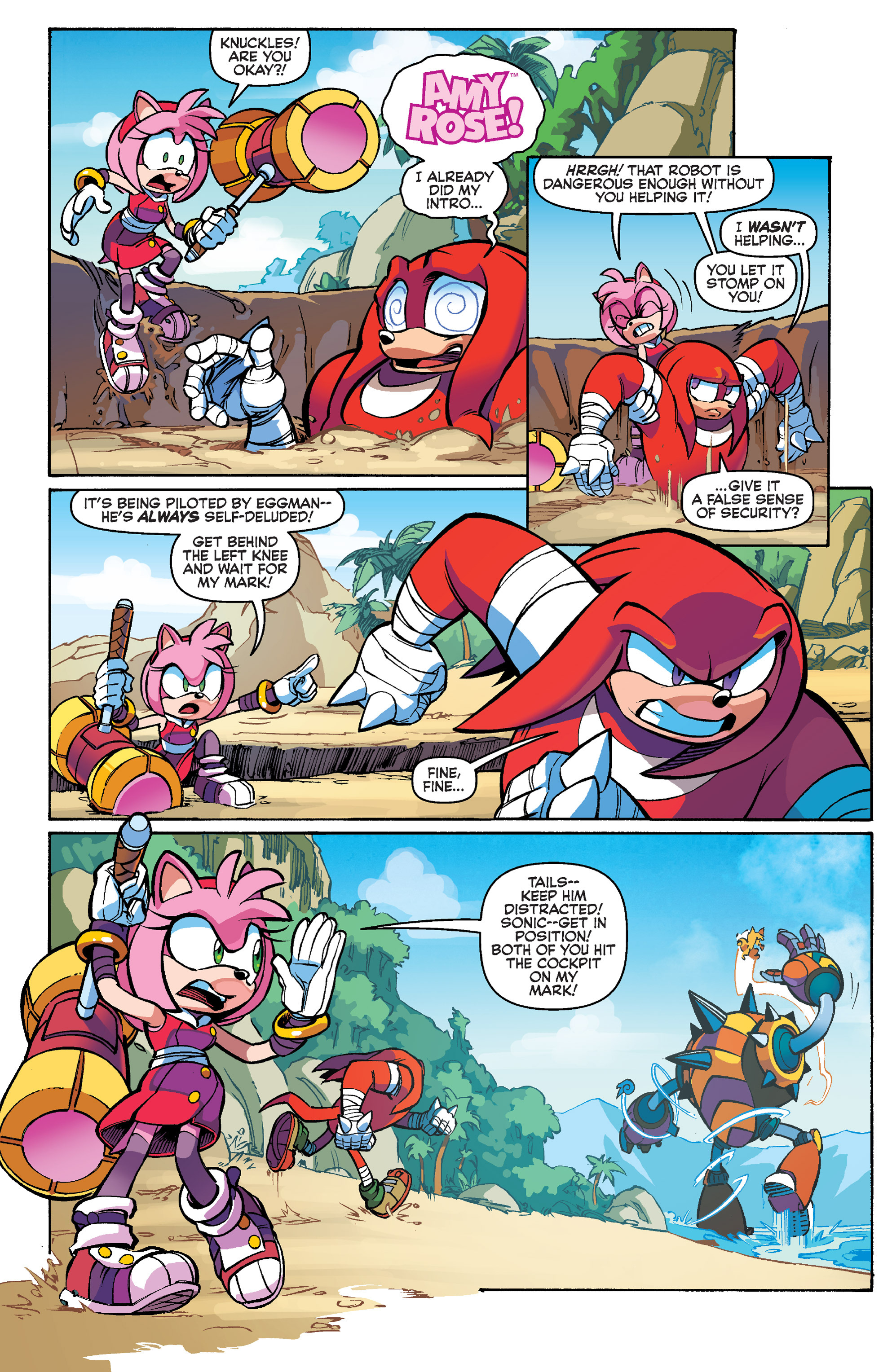 Read online Sonic Boom comic -  Issue #1 - 7
