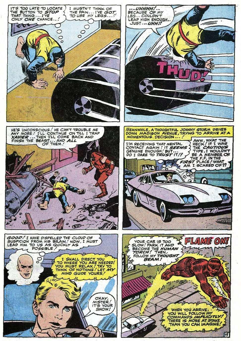 Read online Uncanny X-Men (1963) comic -  Issue #67 - 43