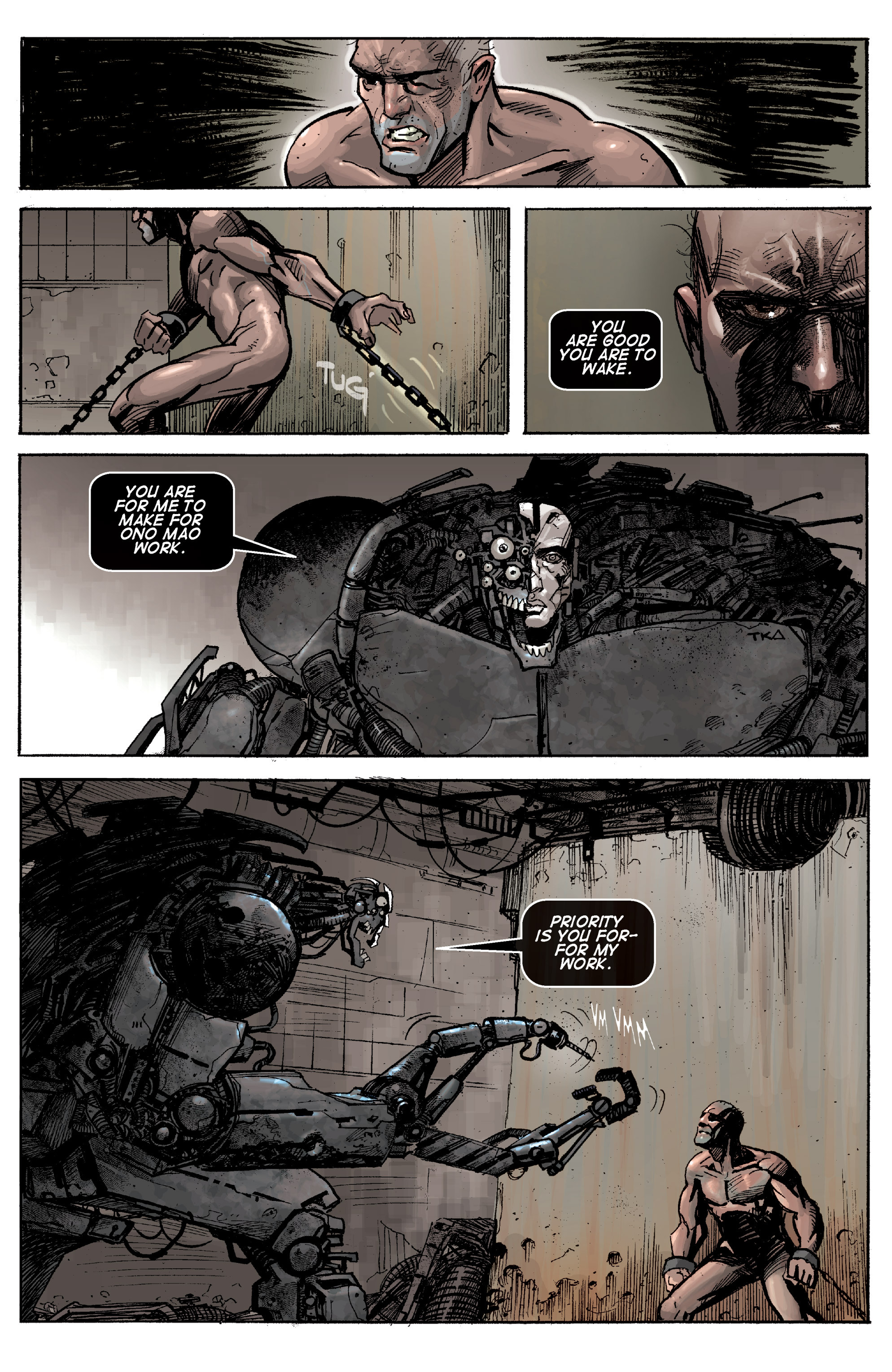 Read online Planetoid comic -  Issue # TPB - 123