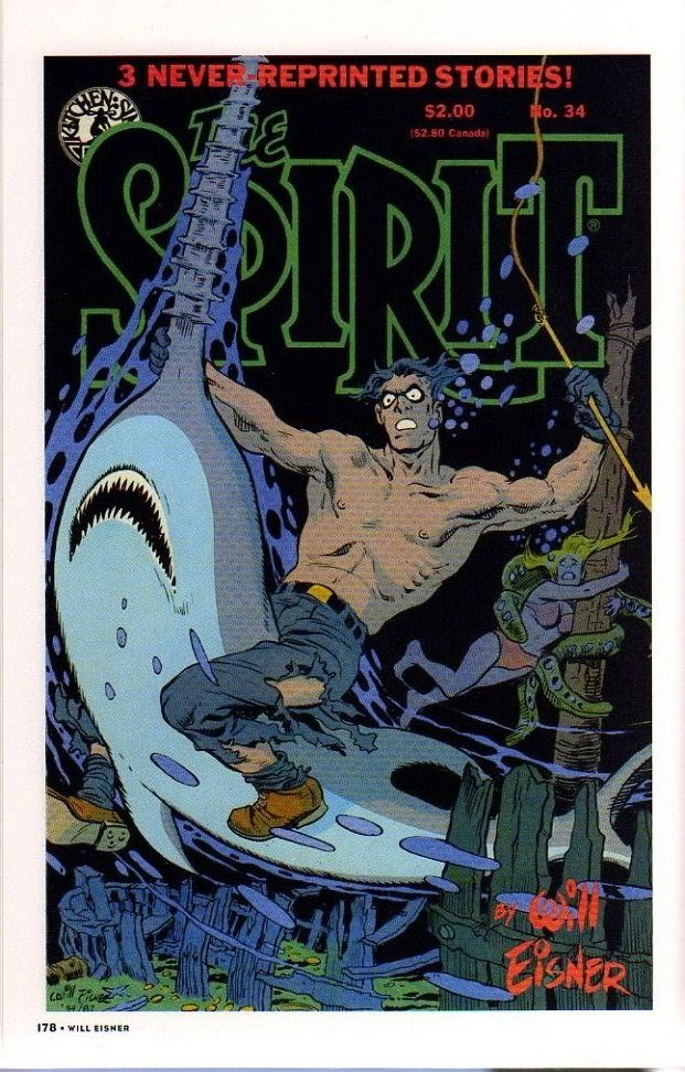 Read online Will Eisner's The Spirit Archives comic -  Issue # TPB 26 (Part 2) - 85