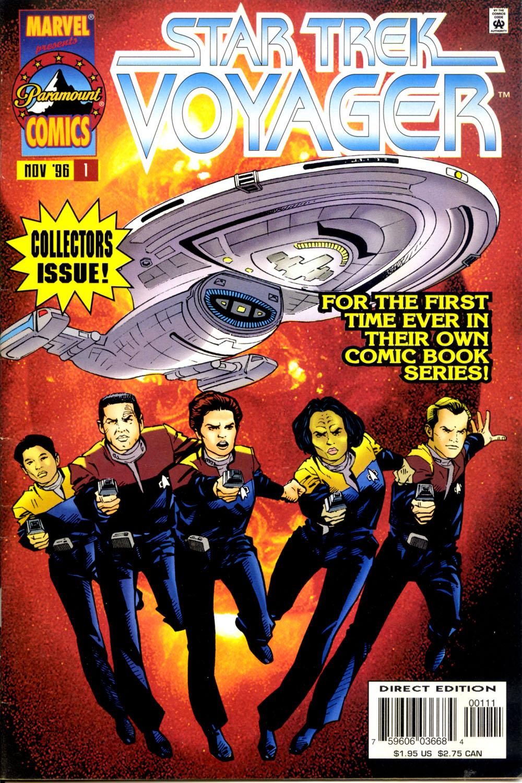 Star Trek: Voyager issue 1 - Page 1
