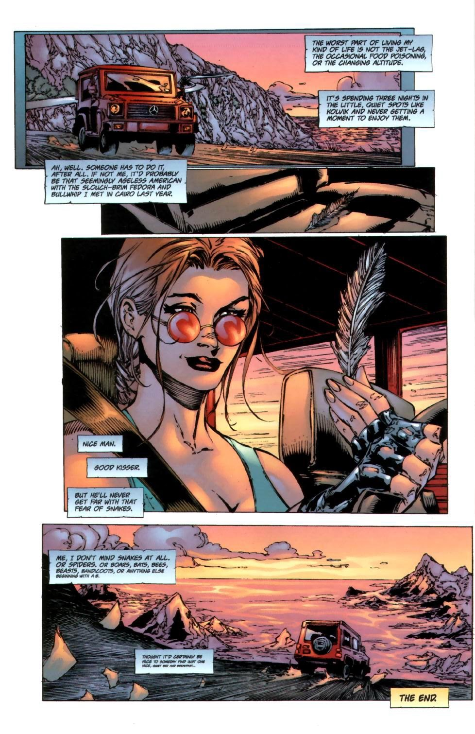 Read online Tomb Raider: The Series comic -  Issue #0 - 22