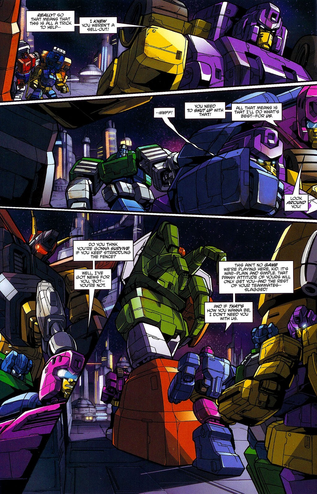 Read online Transformers: Micromasters comic -  Issue #3 - 18