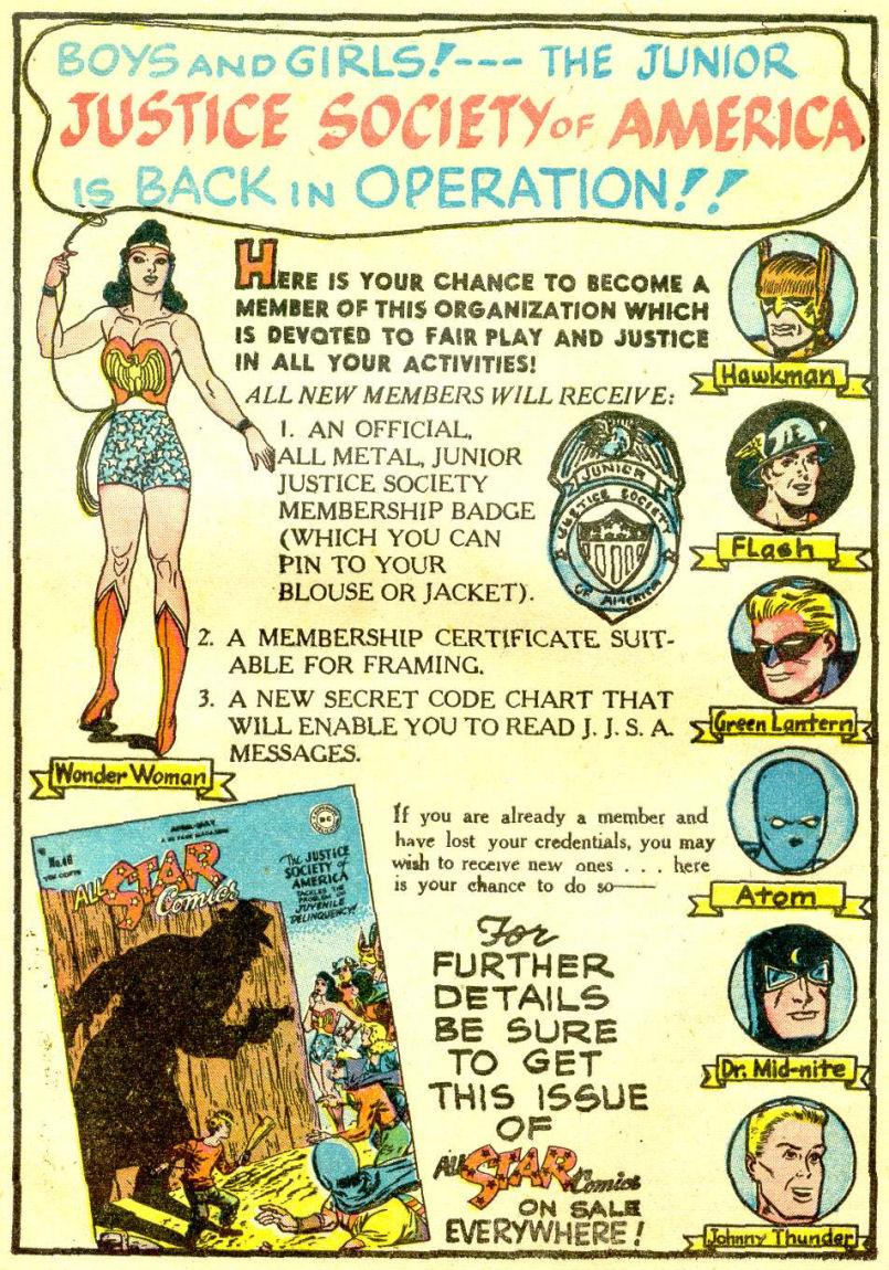 Read online Sensation (Mystery) Comics comic -  Issue #77 - 43