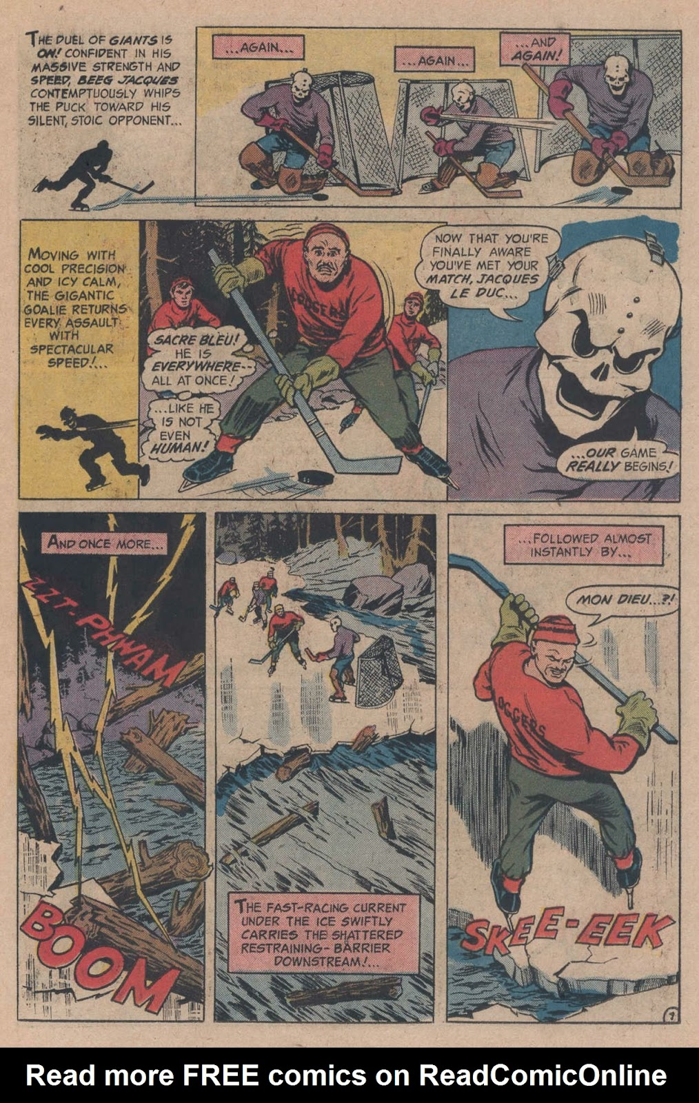 Read online Strange Sports Stories (1973) comic -  Issue #5 - 11