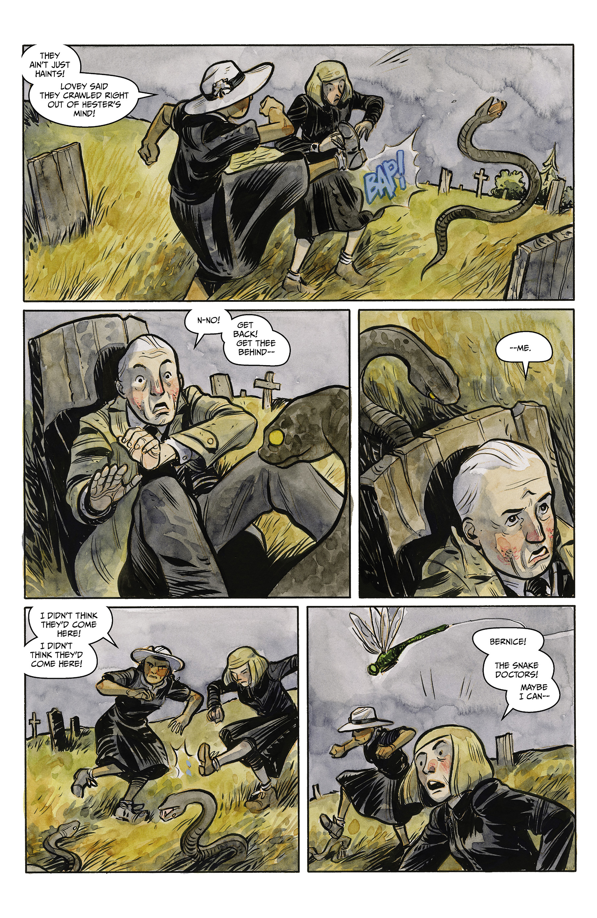 Read online Harrow County comic -  Issue #23 - 10