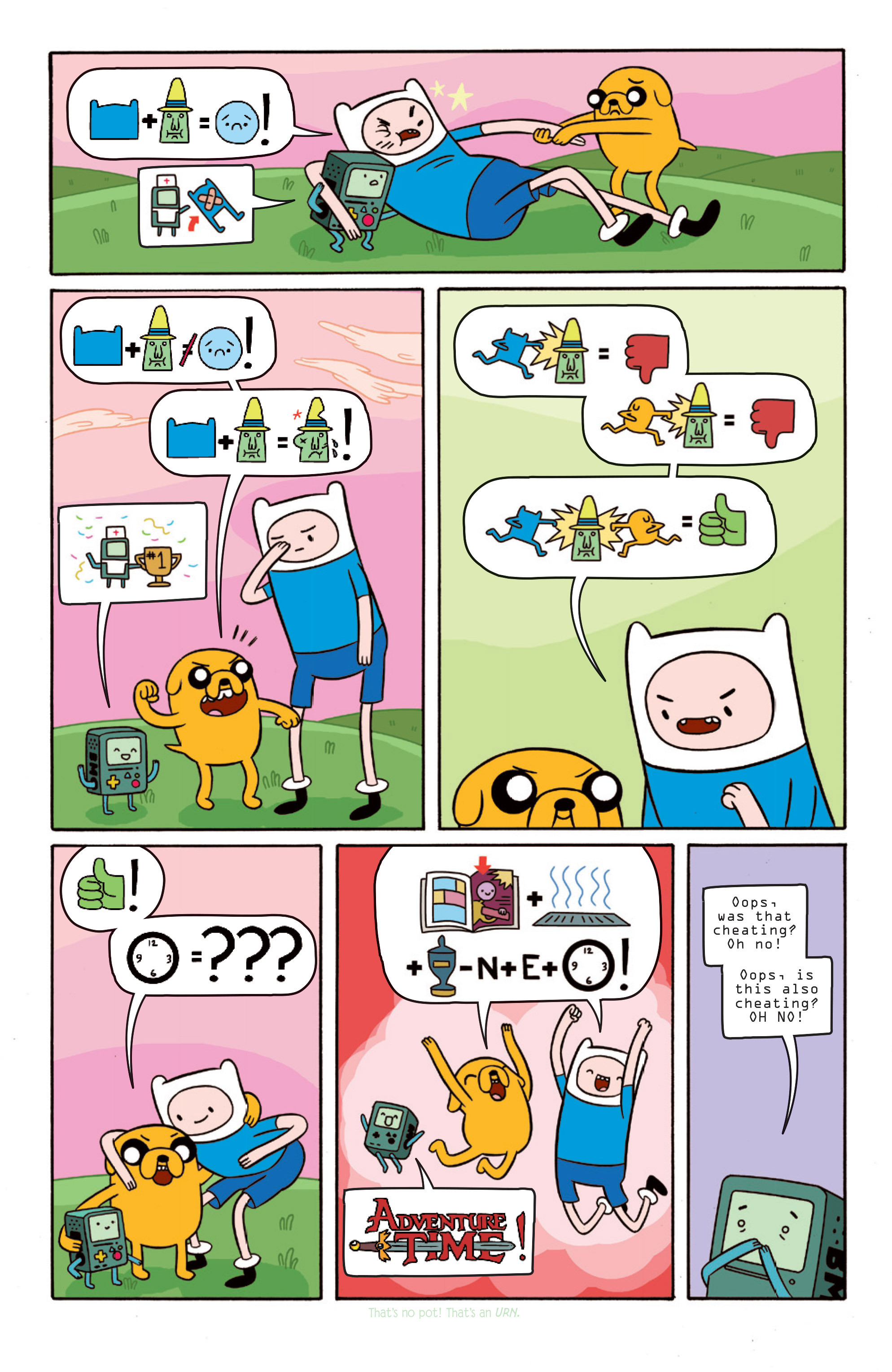 Read online Adventure Time comic -  Issue #15 - 15