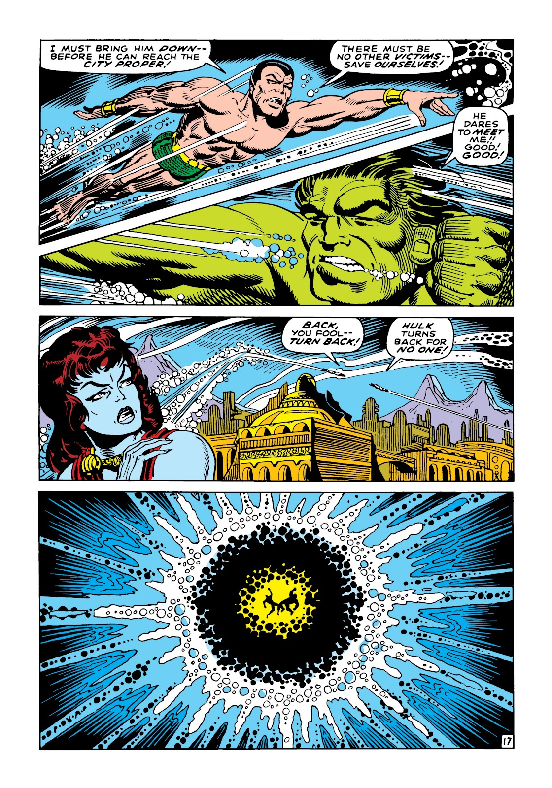 Read online Marvel Masterworks: The Incredible Hulk comic -  Issue # TPB 5 (Part 2) - 70