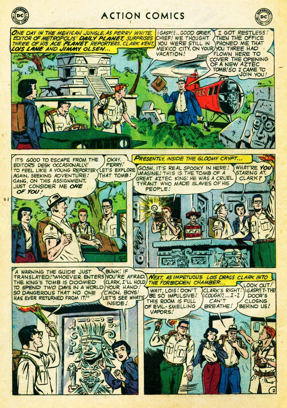 Read online Action Comics (1938) comic -  Issue #262 - 4