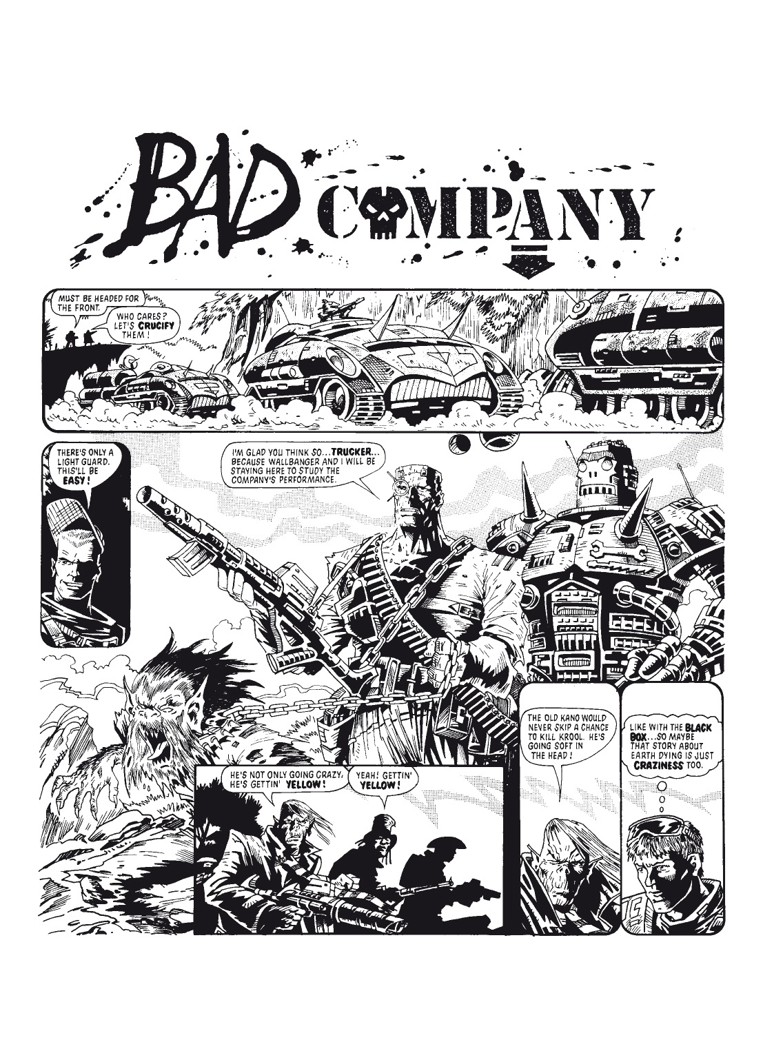 Read online The Complete Bad Company comic -  Issue # TPB - 35