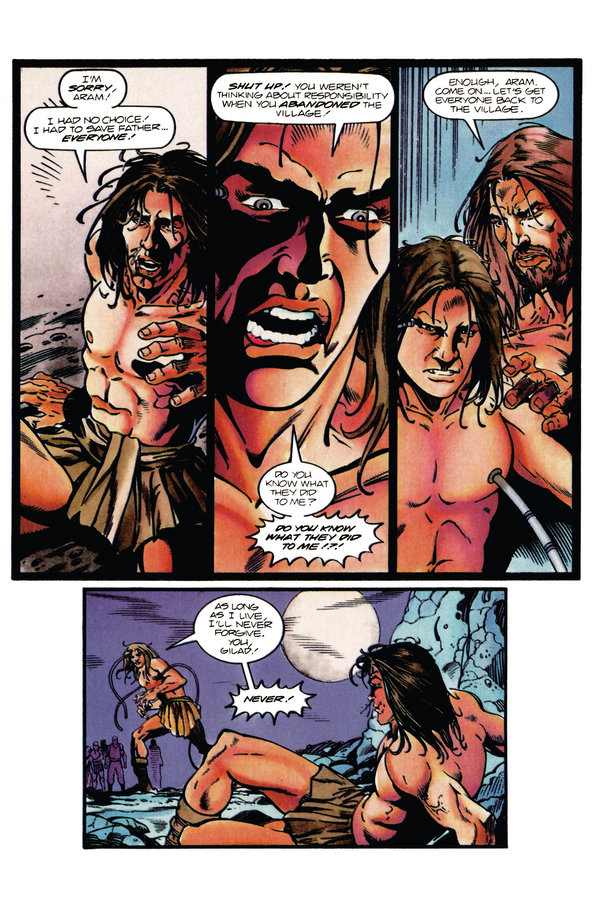 Read online Eternal Warrior (1992) comic -  Issue #38 - 20