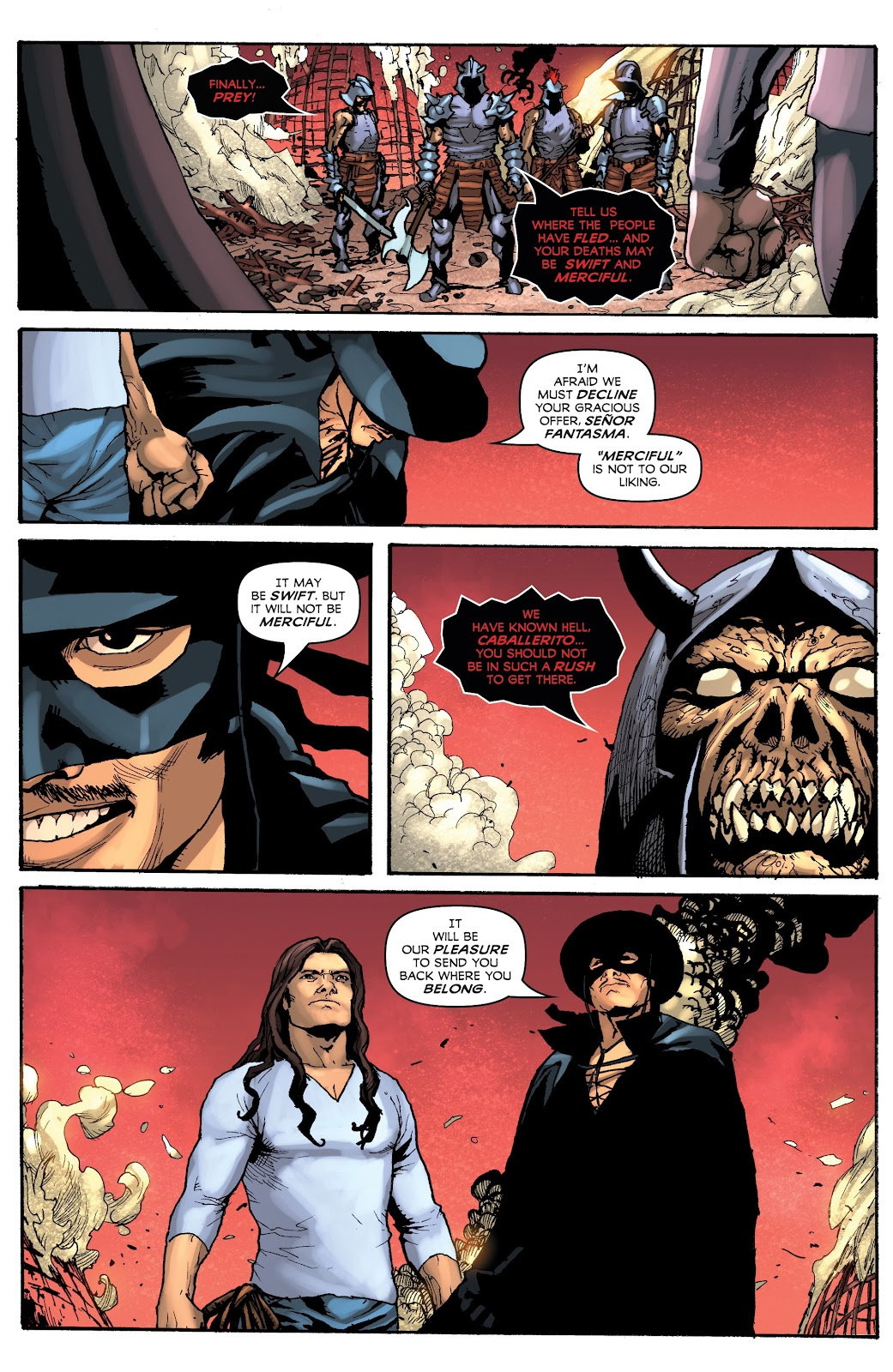 Read online Zorro: Swords of Hell comic -  Issue #3 - 11