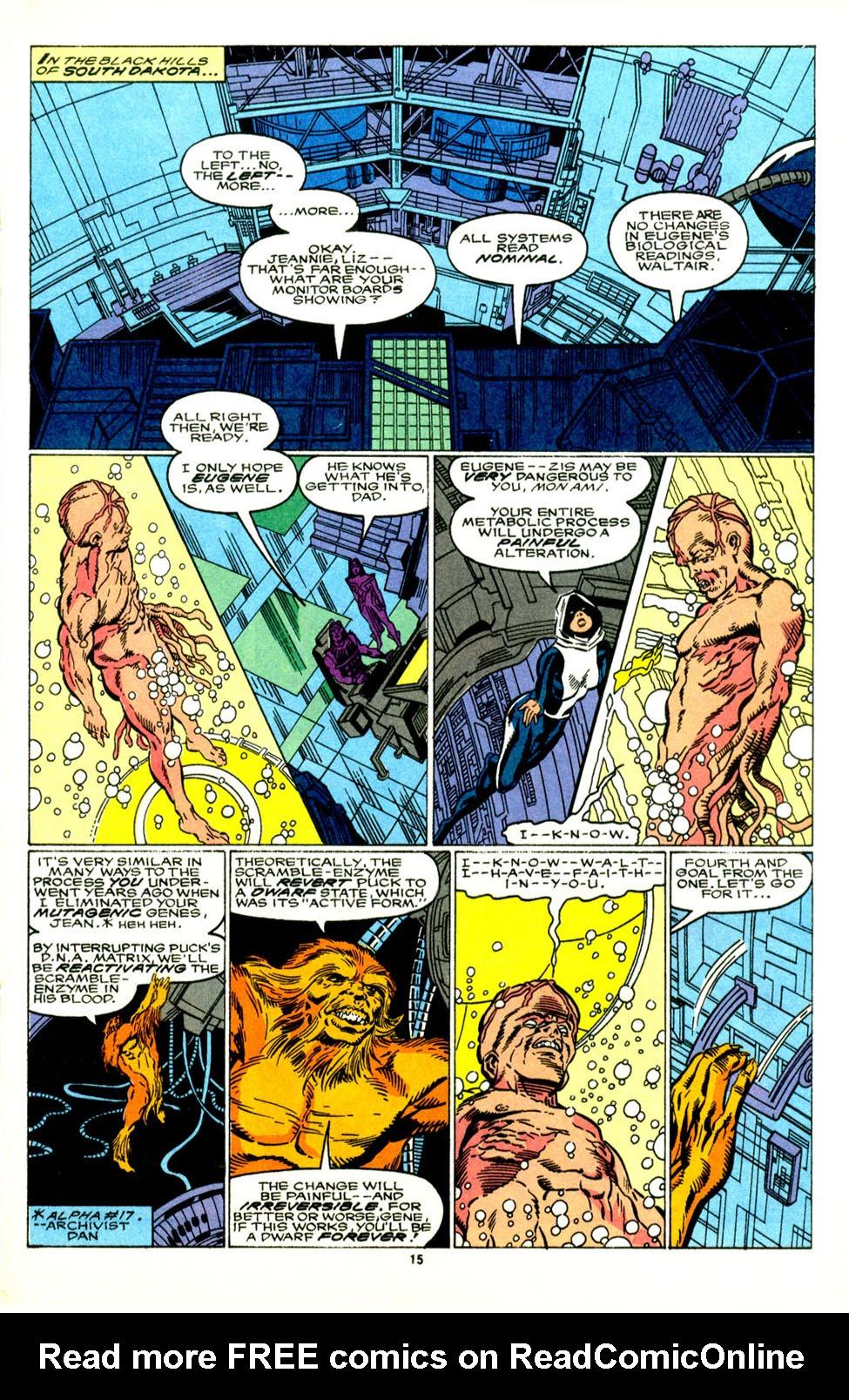 Read online Alpha Flight (1983) comic -  Issue #89 - 14