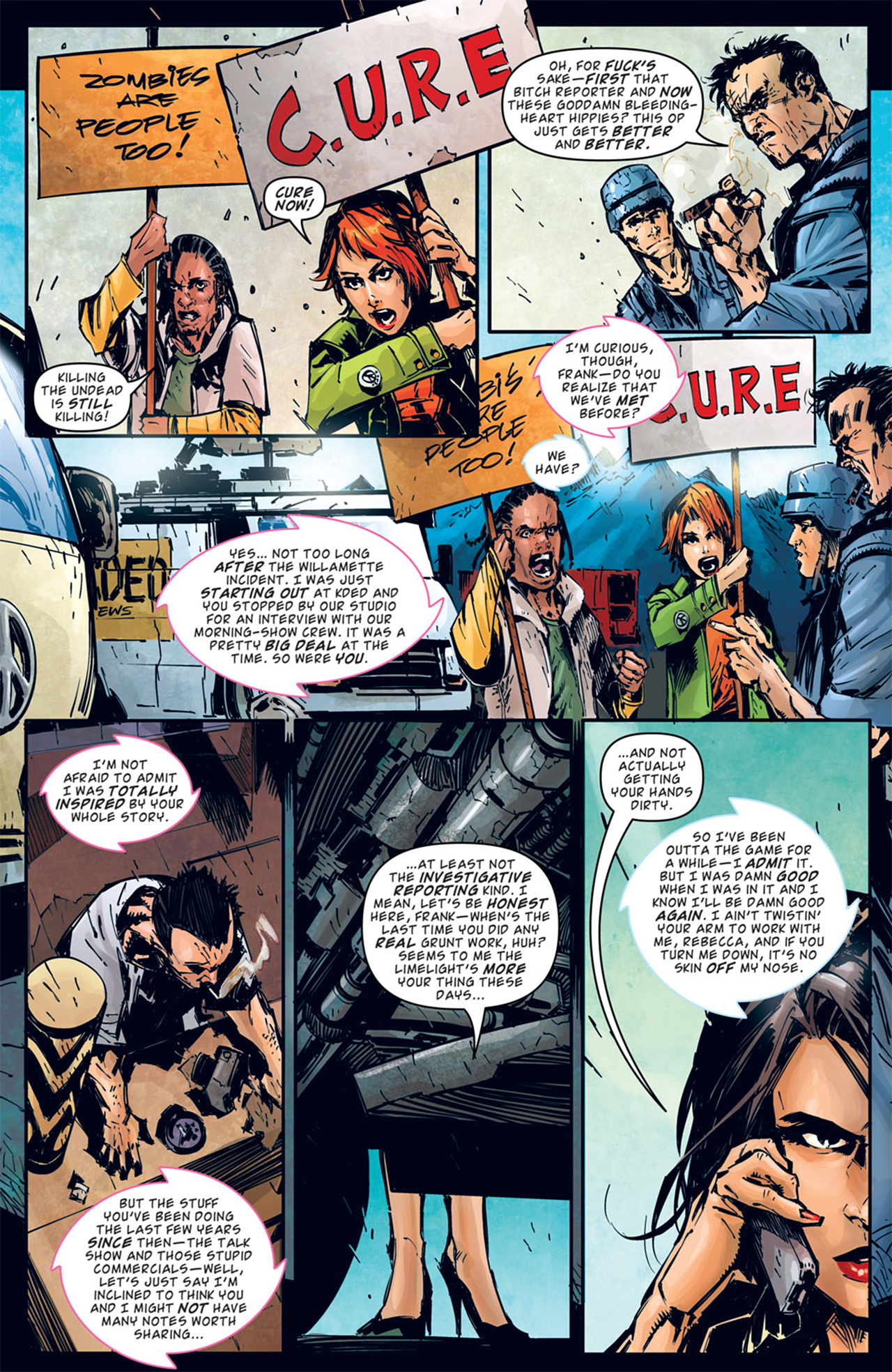 Read online Dead Rising: Road to Fortune comic -  Issue # TPB - 40