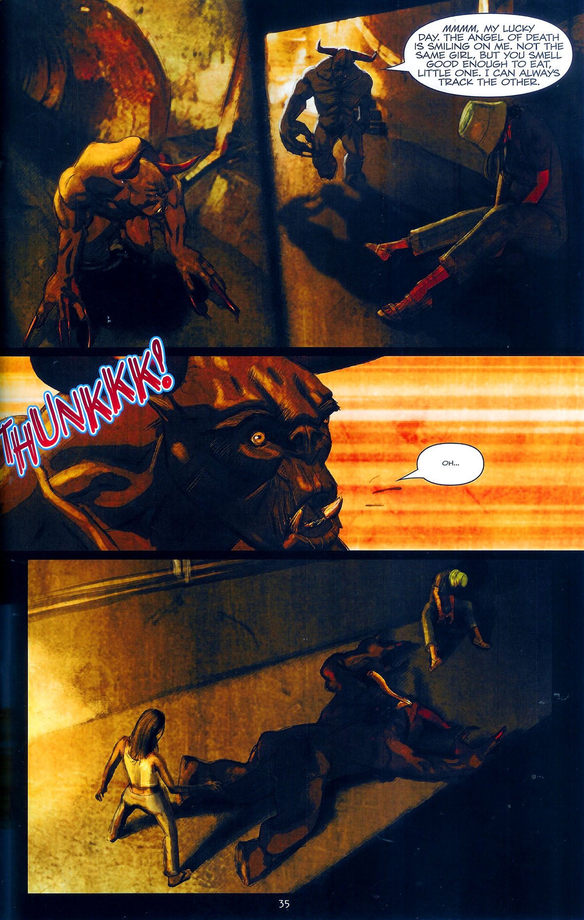 Read online Angel: Masks comic -  Issue # Full - 37