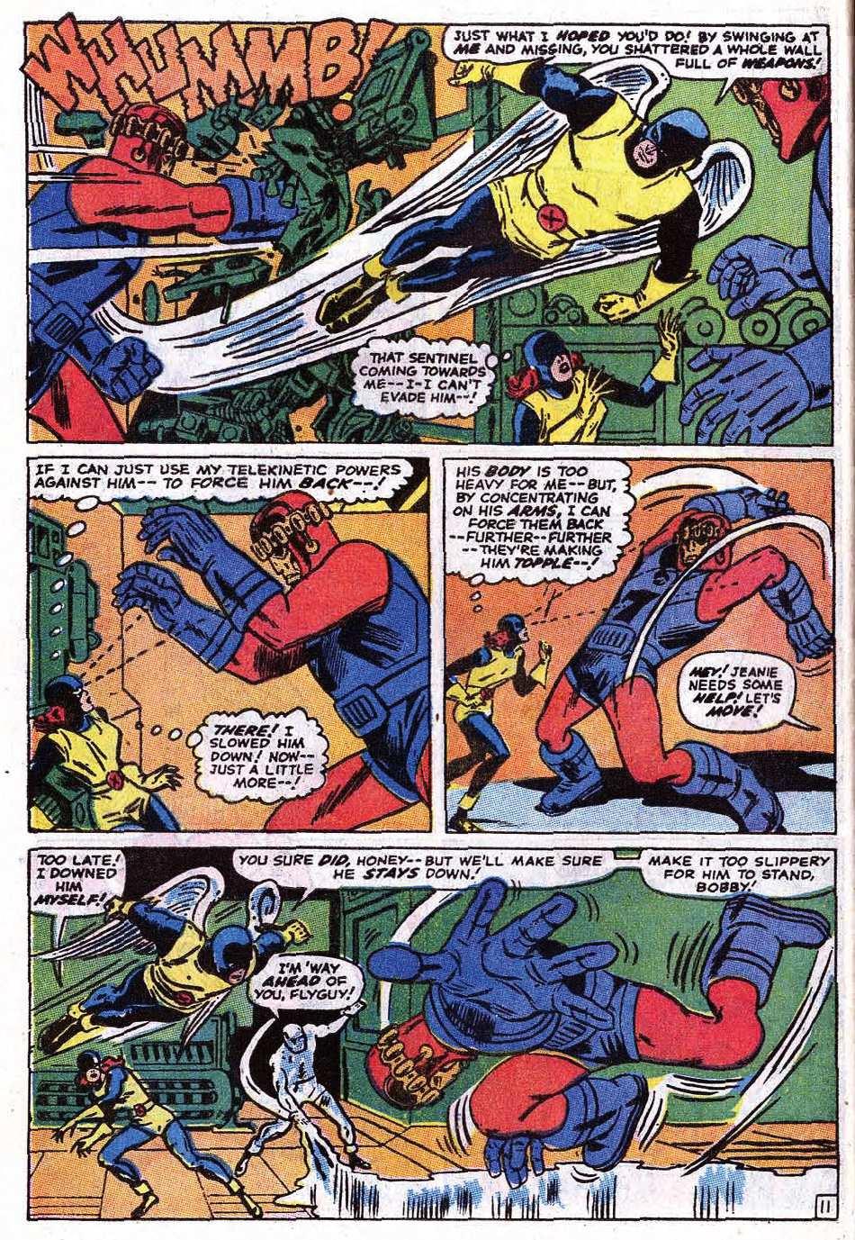 Read online Uncanny X-Men (1963) comic -  Issue #69 - 14