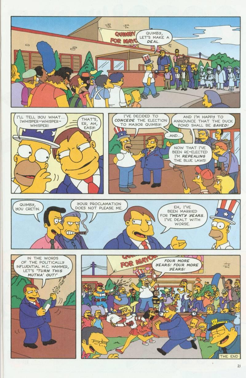 Read online Simpsons Comics comic -  Issue #58 - 22