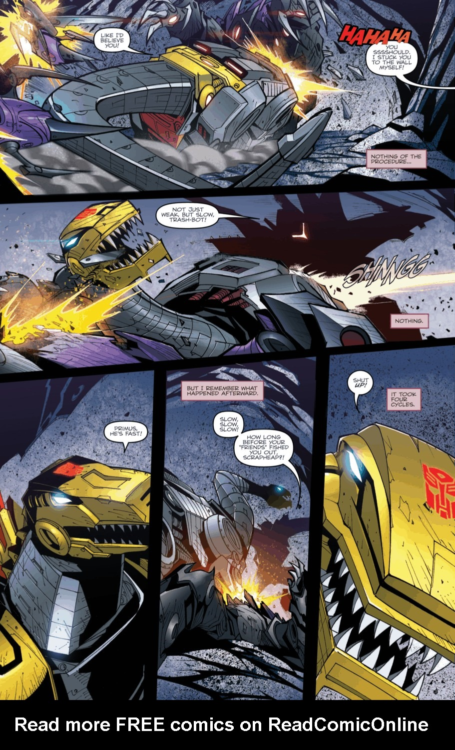 Read online Transformers Prime: Beast Hunters comic -  Issue #2 - 4