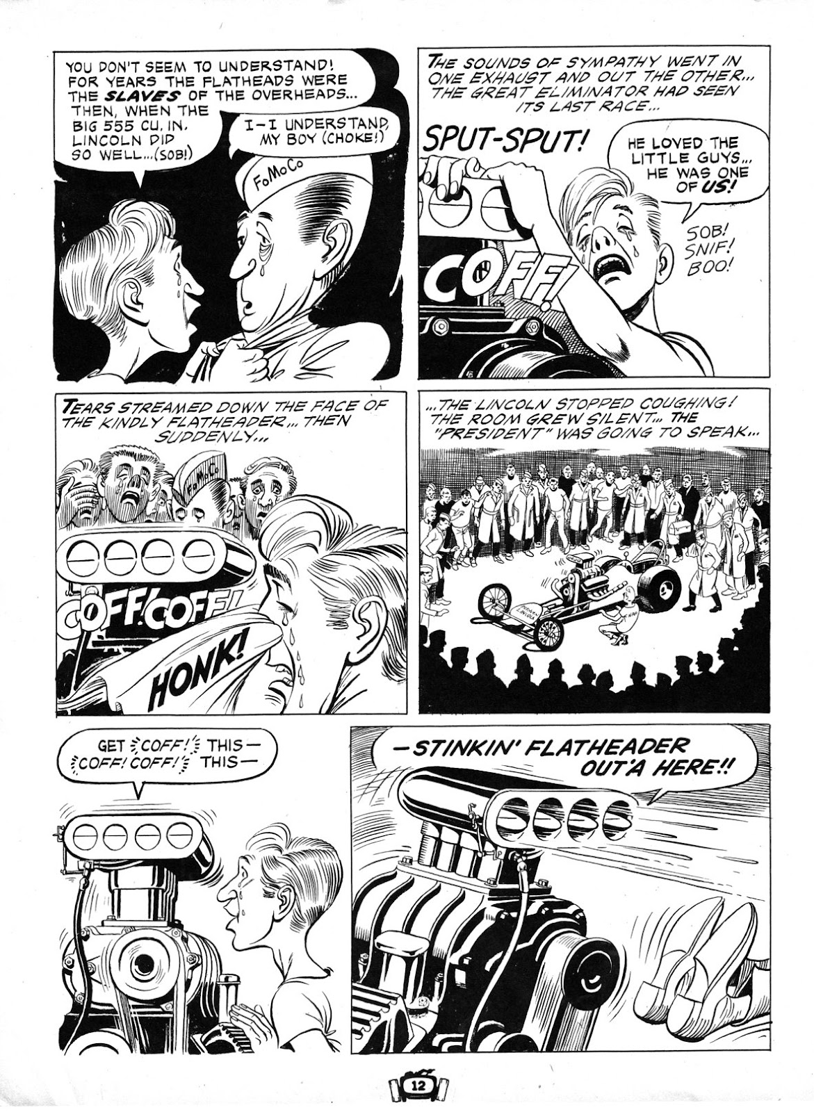 Drag Cartoons issue 7 - Page 12