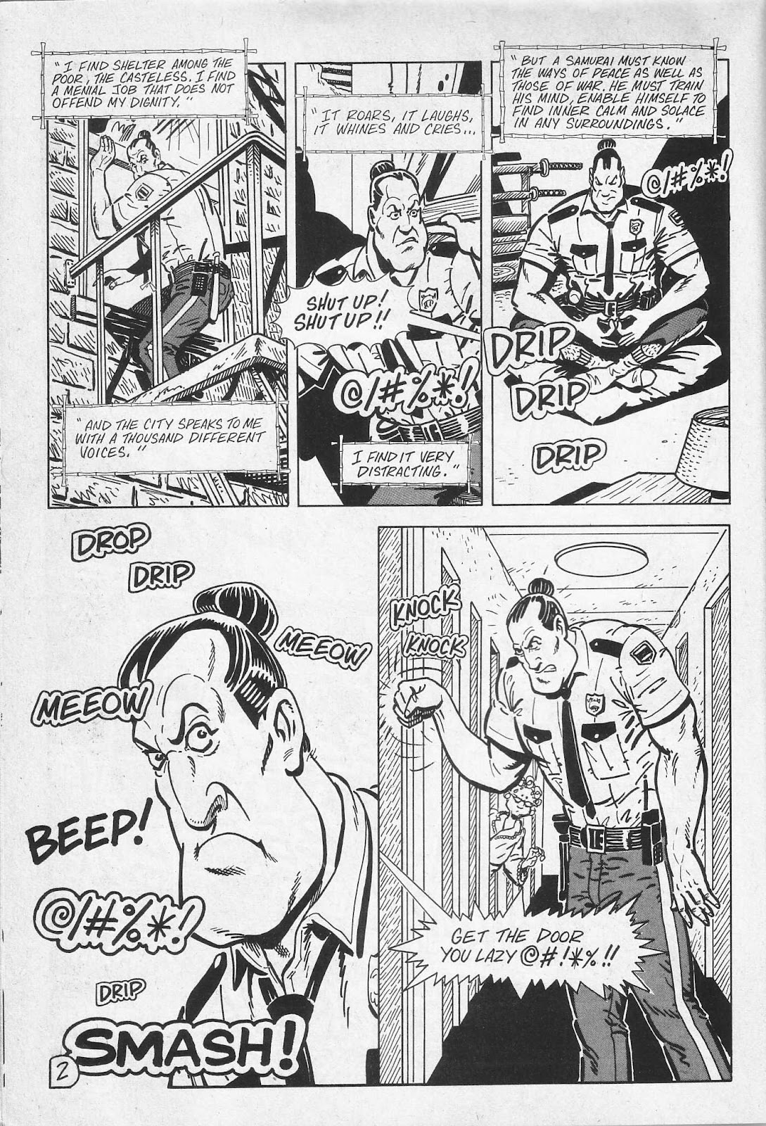 Read online Paul the Samurai (1991) comic -  Issue # TPB - 8