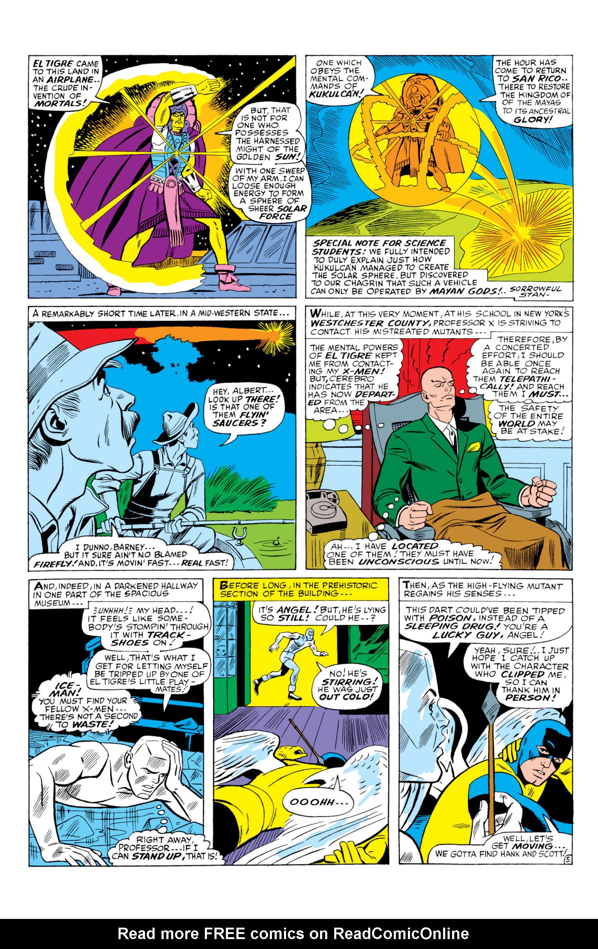 Read online Uncanny X-Men (1963) comic -  Issue #26 - 6