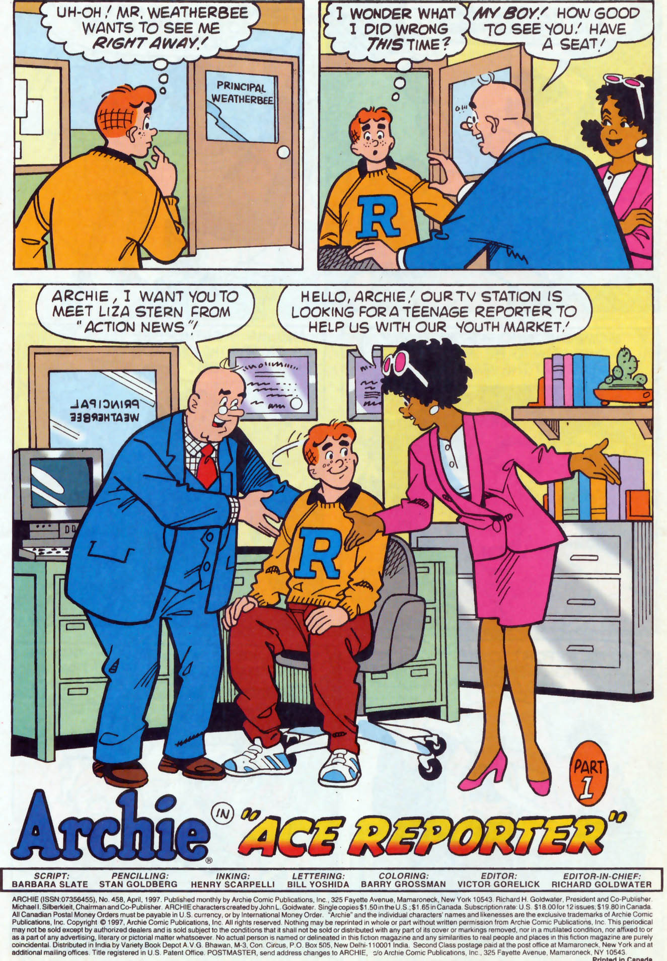 Read online Archie (1960) comic -  Issue #458 - 2