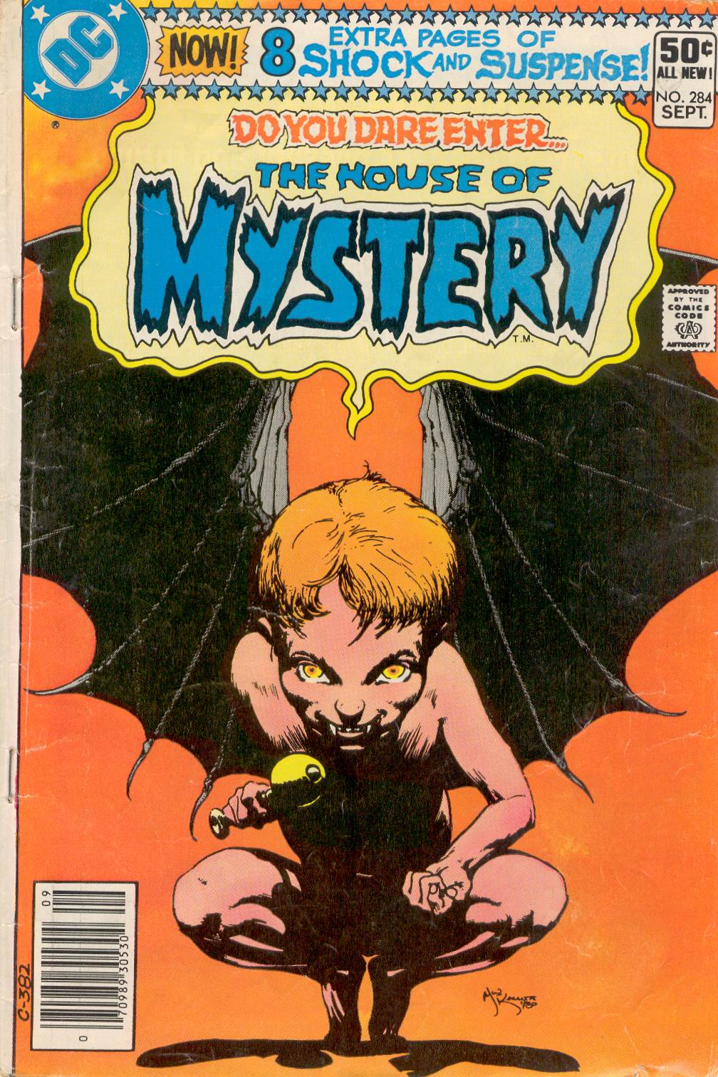 House of Mystery (1951) issue 284 - Page 1