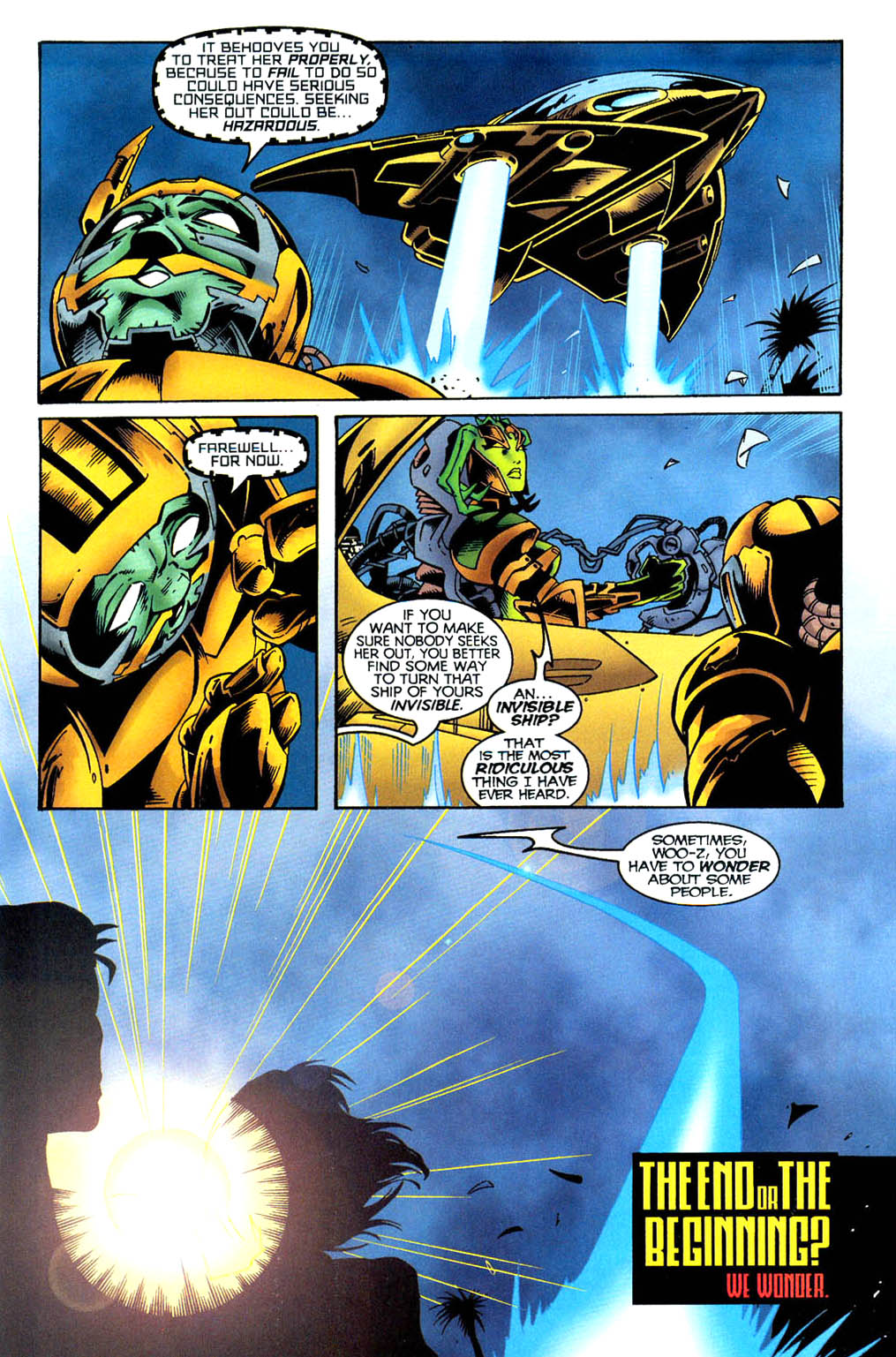 Read online Tangent Comics/ Wonder Woman comic -  Issue # Full - 23