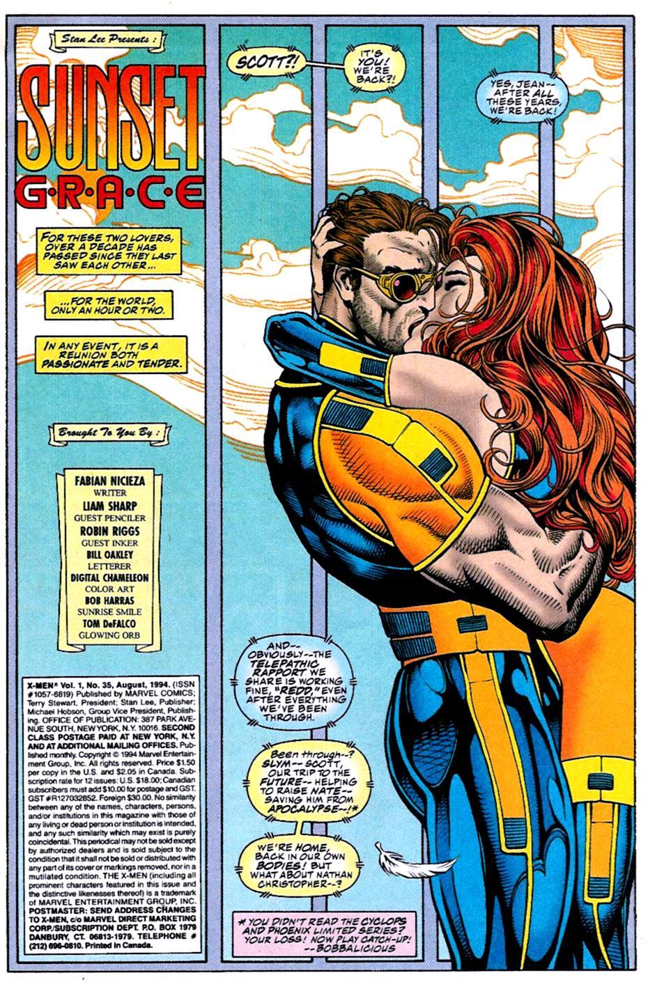 X-Men (1991) 35 Page 1