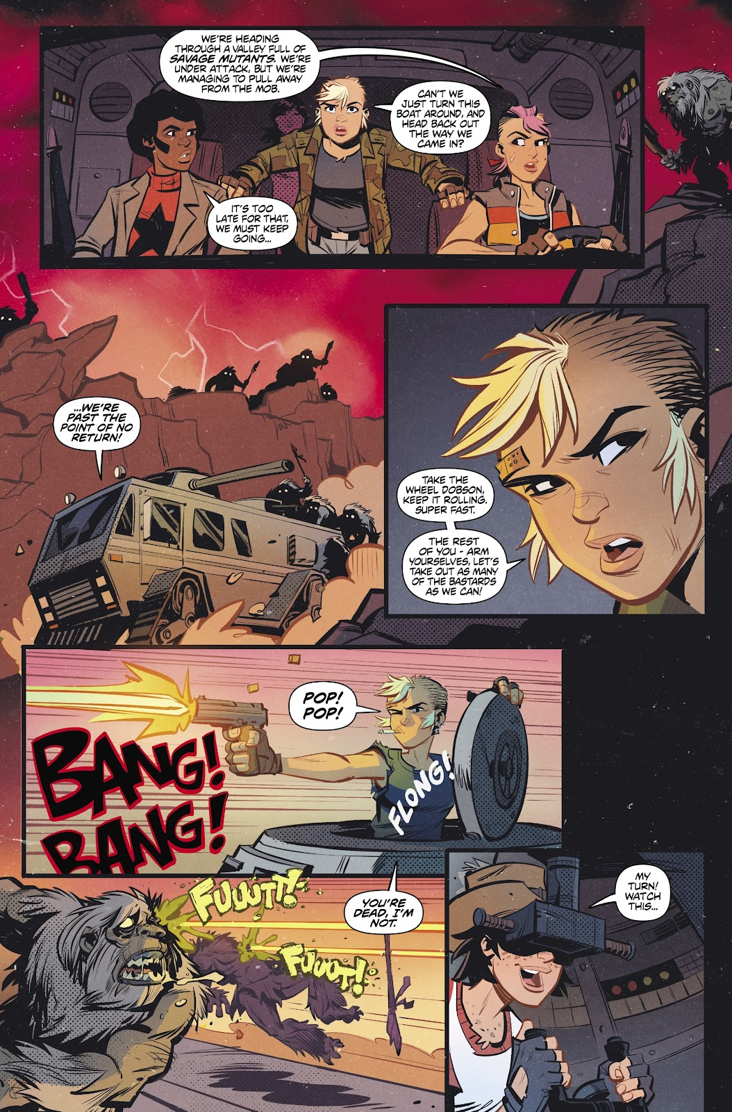 Read online Tank Girl Ongoing comic -  Issue #2 - 22