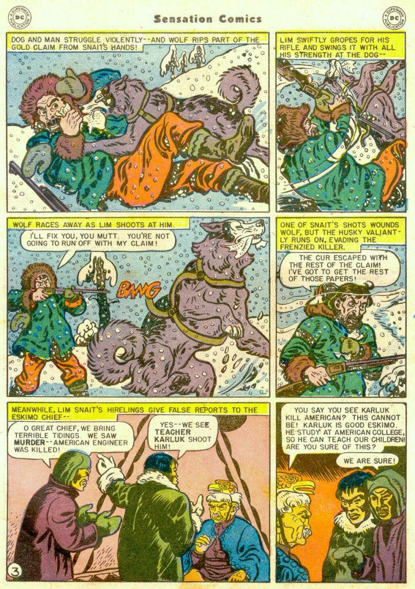 Read online Sensation (Mystery) Comics comic -  Issue #65 - 4