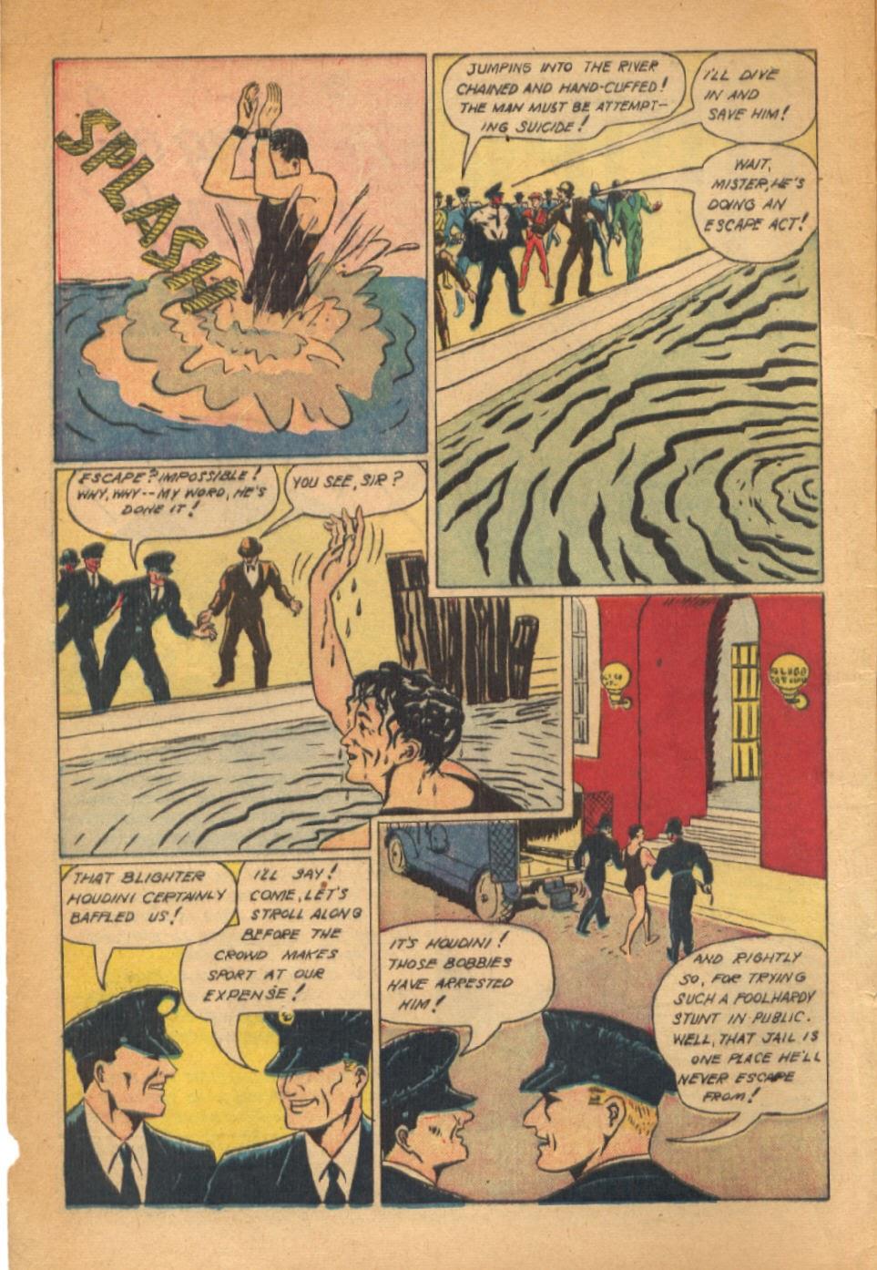 Read online Super-Magician Comics comic -  Issue #54 - 3