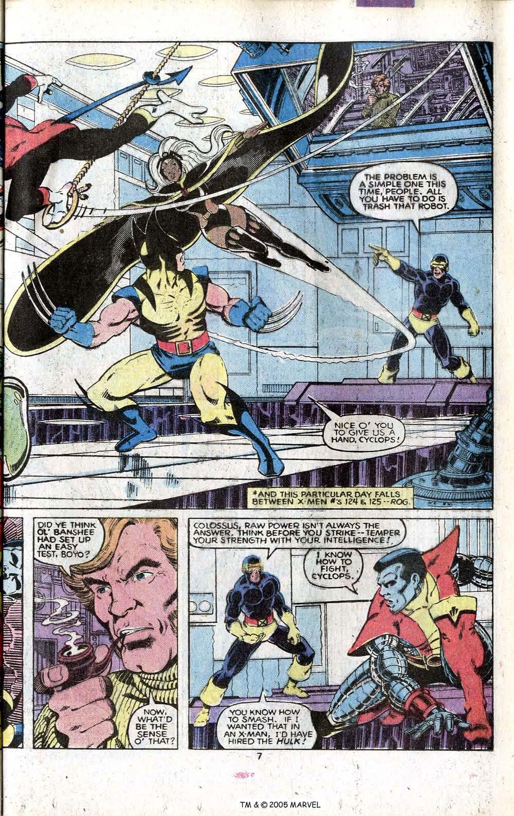 Read online Uncanny X-Men (1963) comic -  Issue # _Annual 3 - 9