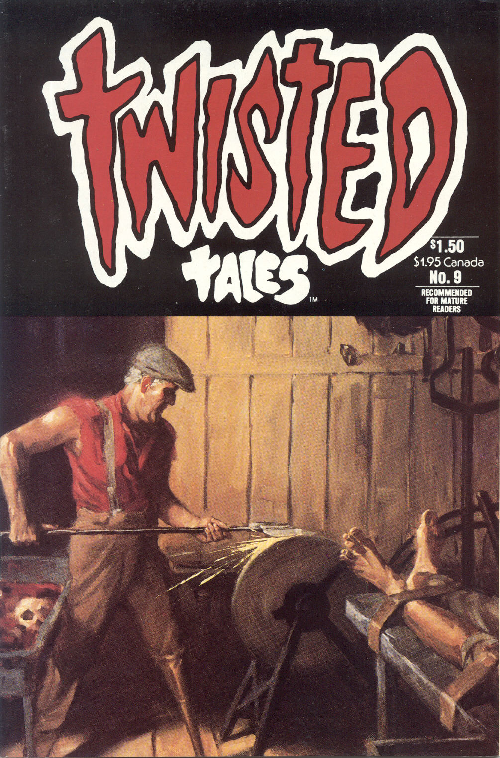 Read online Twisted Tales (1982) comic -  Issue #9 - 1